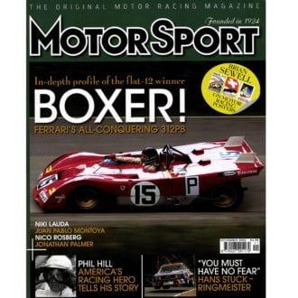 Product image for November 2006   Boxer: Ferrari's All-Conquering 312PB   Motor Sport Magazine