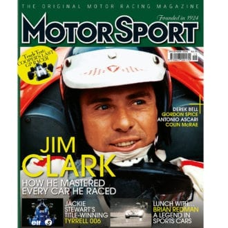 Product image for December 2006   Jim Clark: How He Mastered Every Car He Raced   Motor Sport Magazine