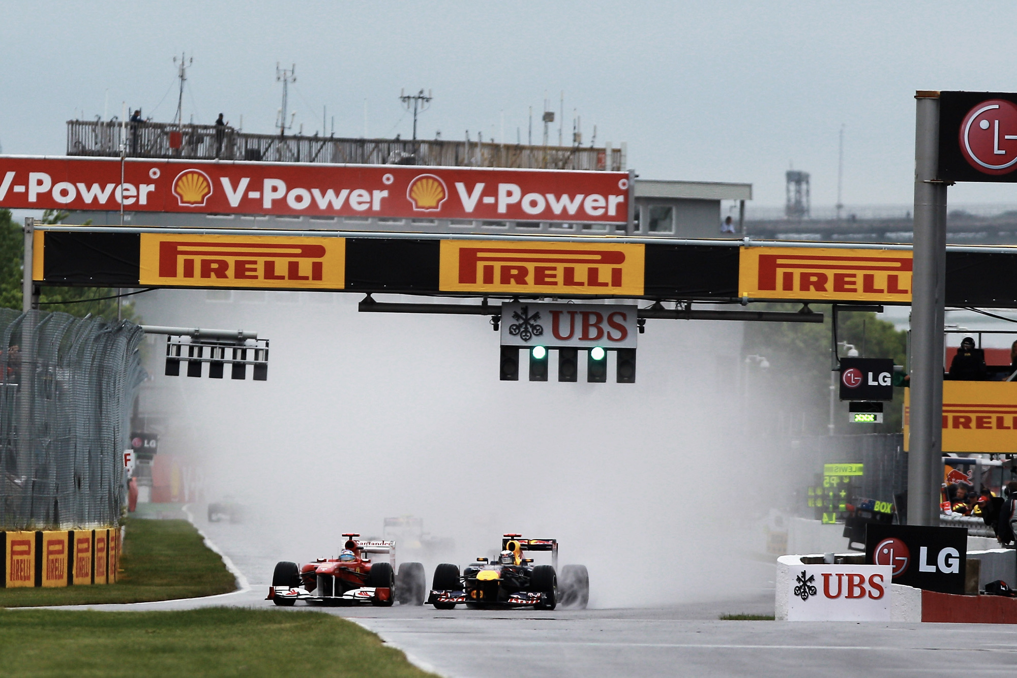 2011 Canadian grand prix start