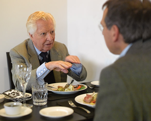 Lunch with John Coombs
