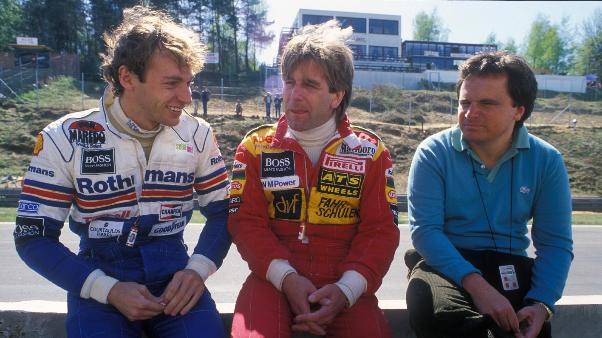 Stefan Bellof, 1984 Belgian GP