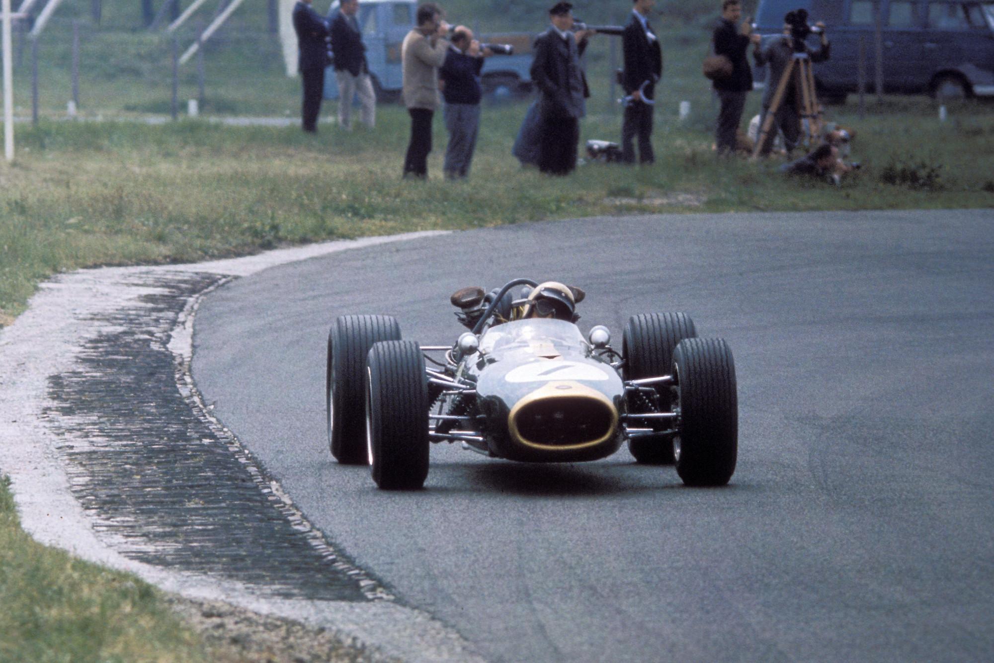 Jack Brabham in the Brabham Repco in 1966