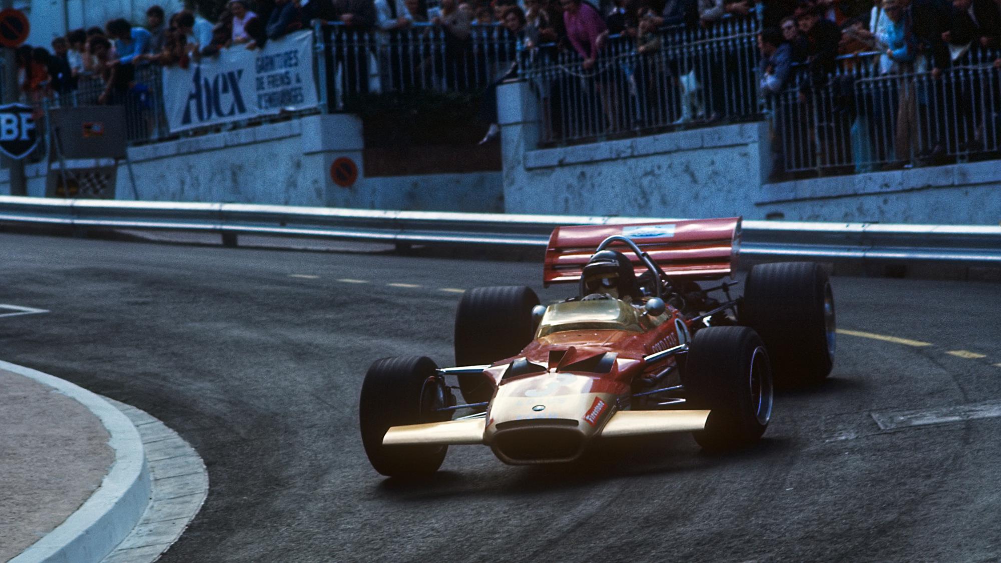 Jochen Rindt, 1970 Monaco GP