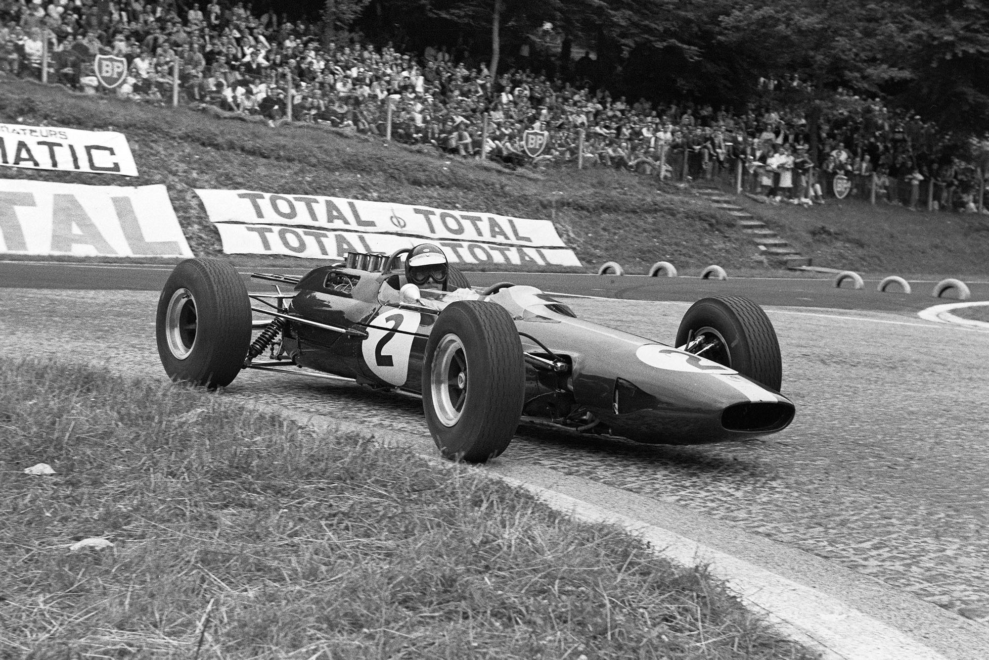 Jim Clark, Lotus 25 Climax.