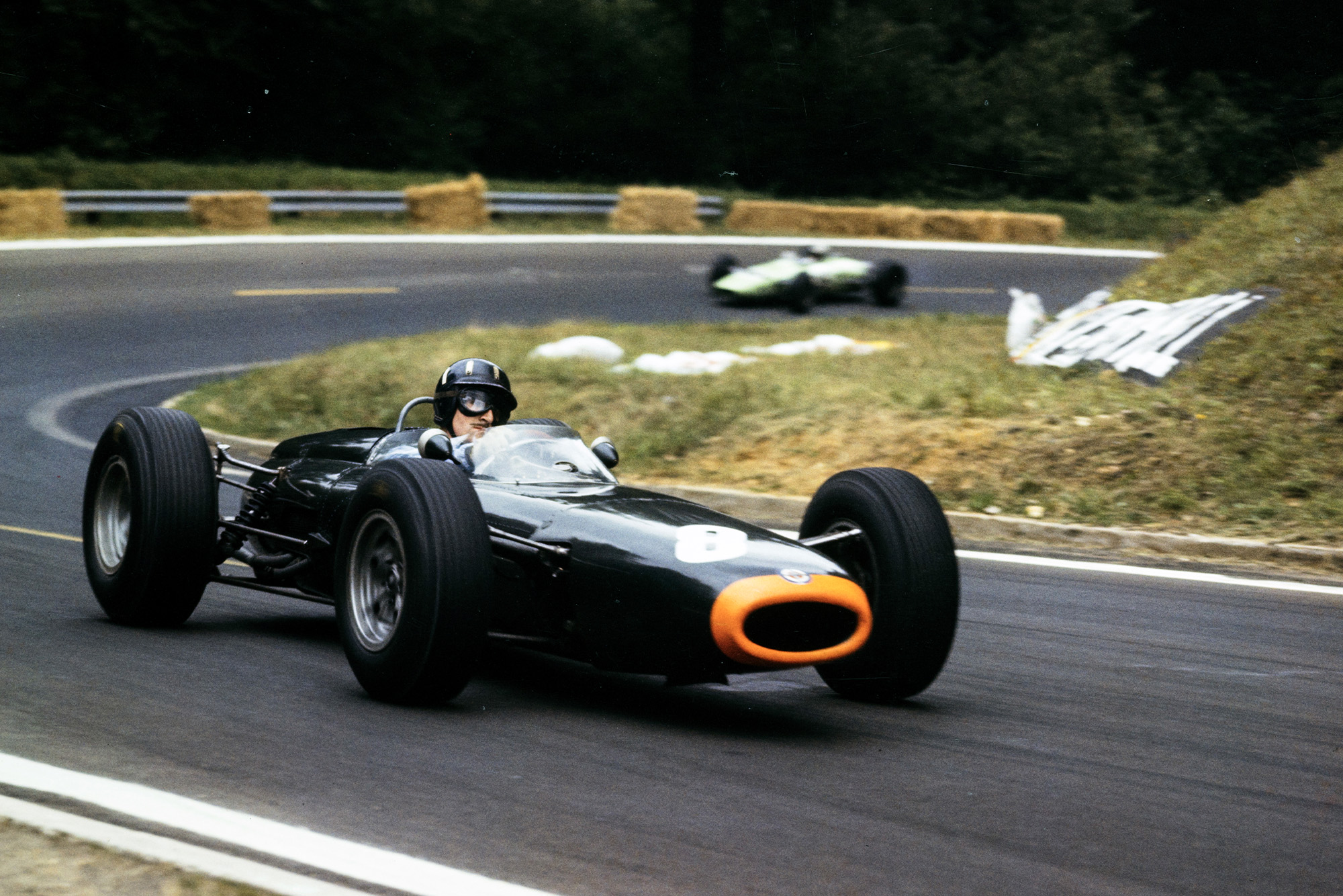 Graham Hill, BRM P261.