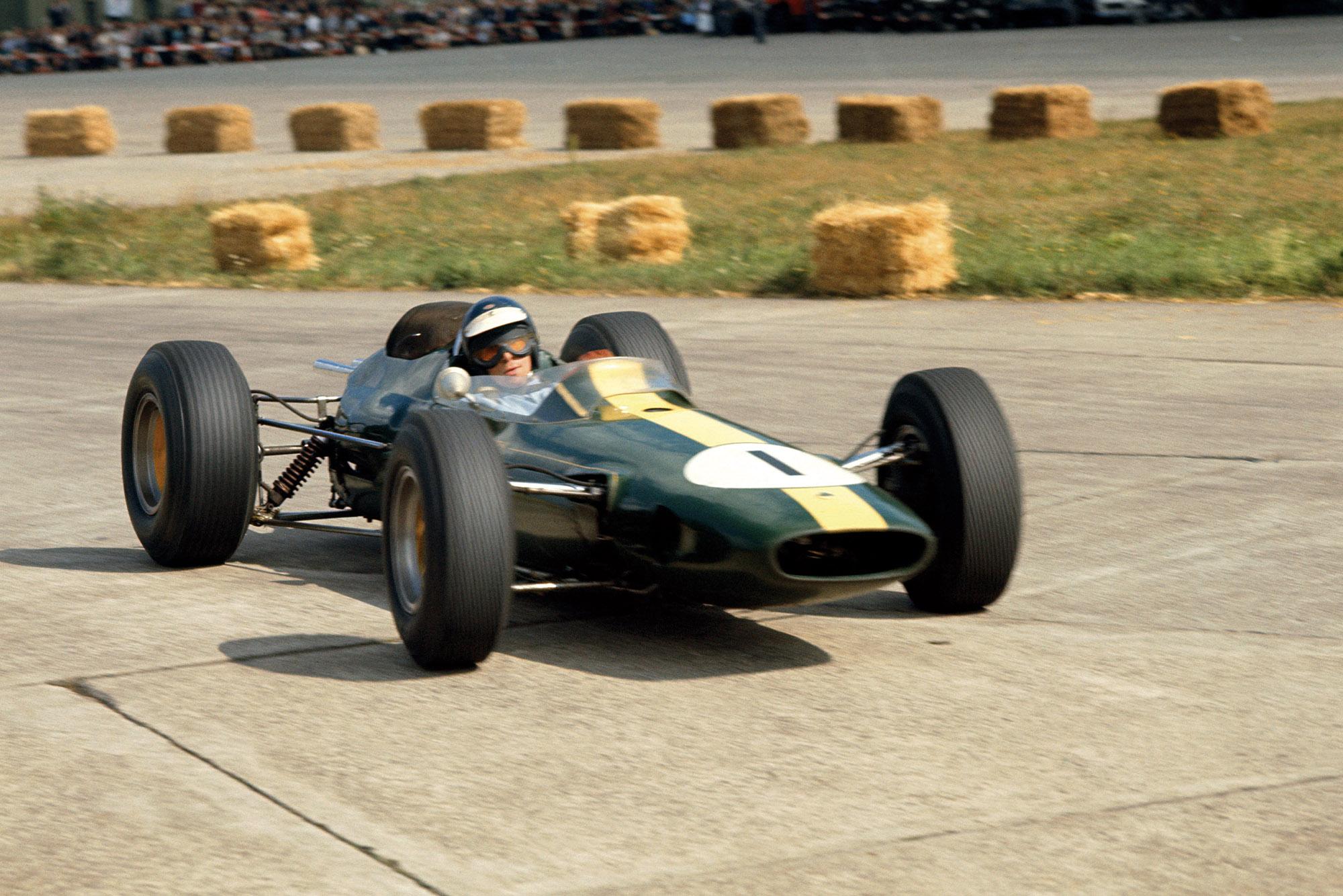 Jim Clark, Lotus 33-Climax.