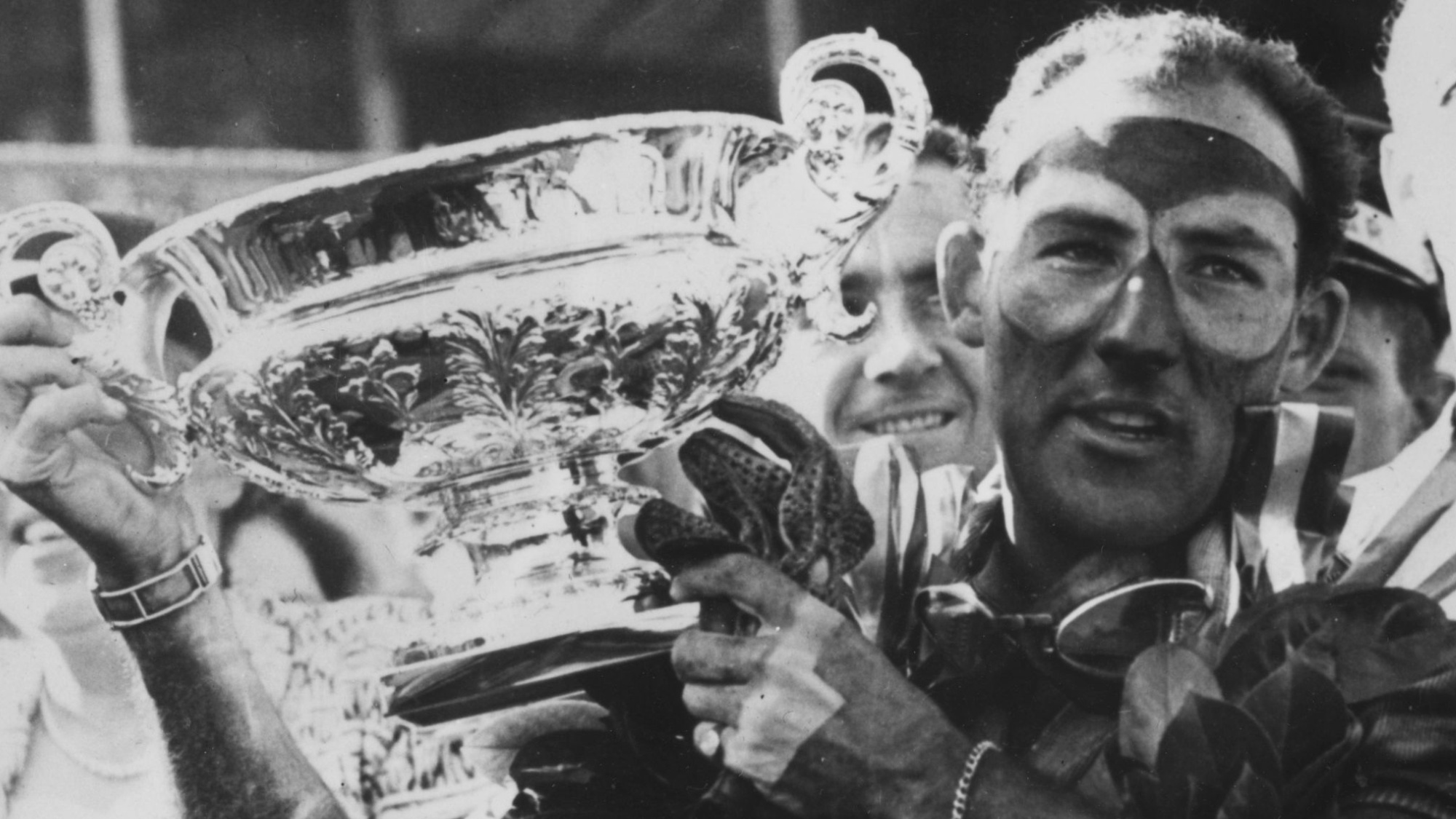 Stirling Moss, 1955 British GP