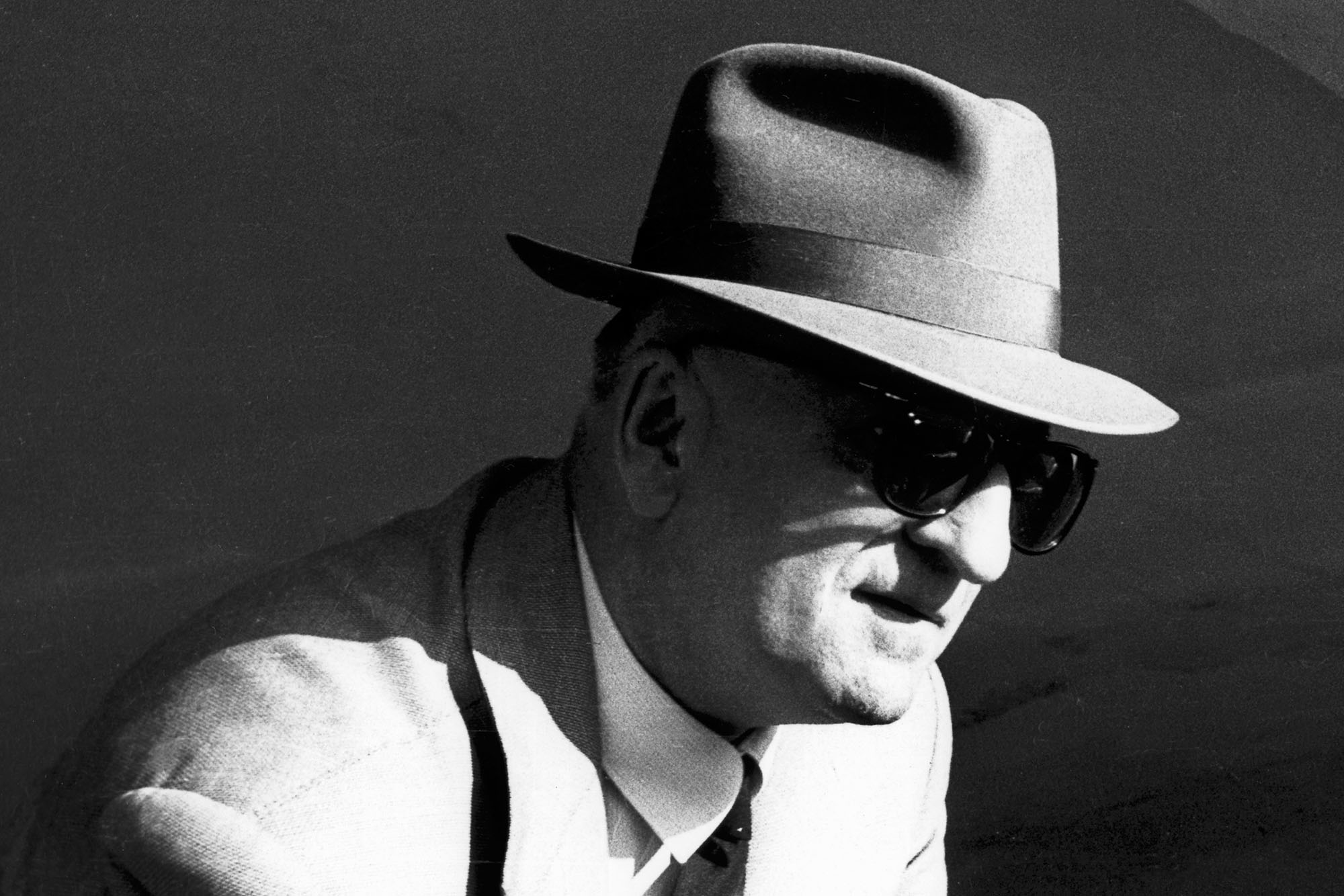 Enzo Ferrari, Grand Prix of Italy, Autodromo Nazionale Monza, 02 September 1956. (Photo by Bernard Cahier/Getty Images)