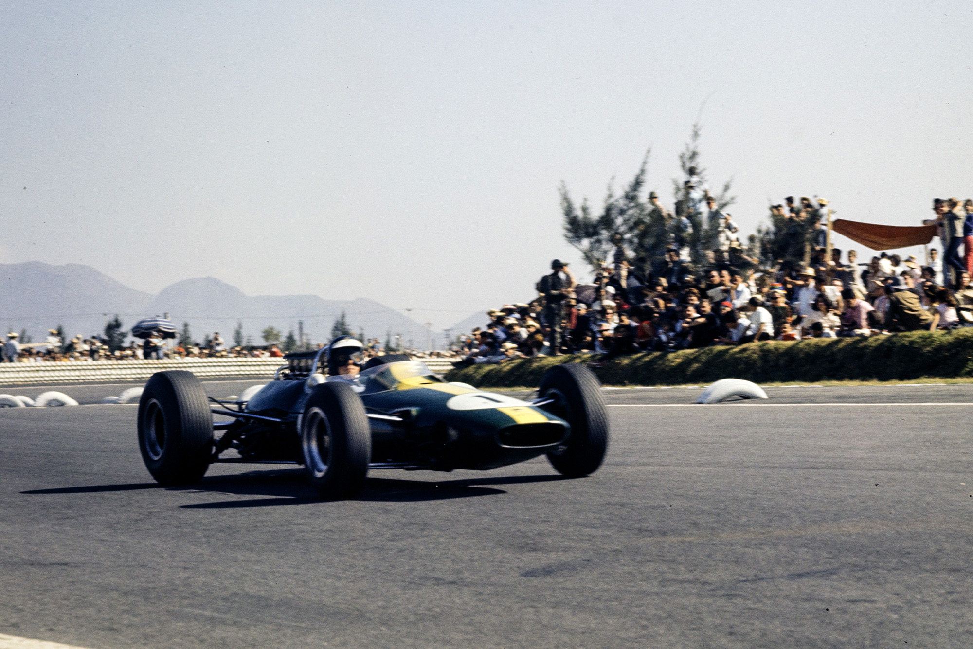 Jim Clark, Lotus 33 Climax.