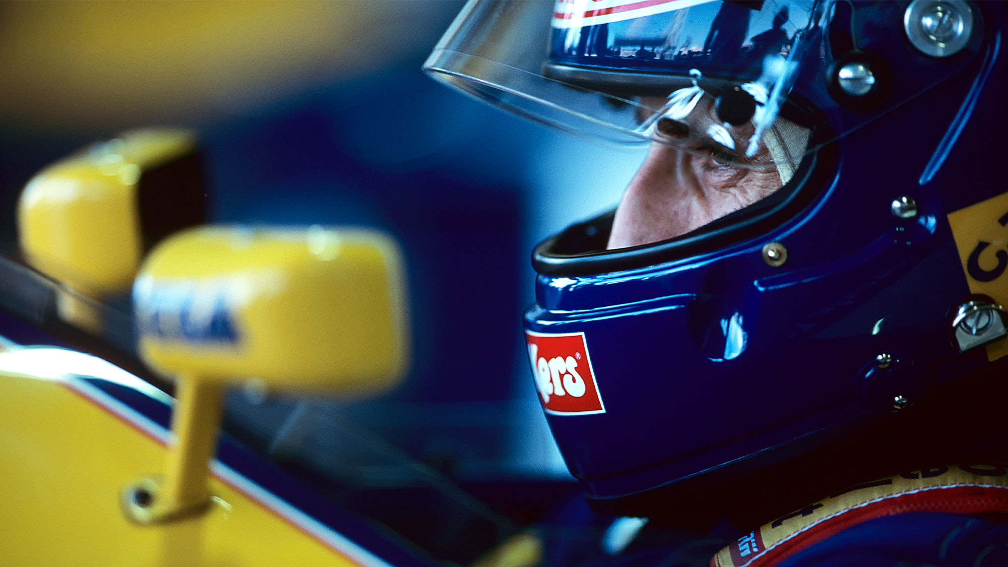 Alain Prost, Williams-Renault FW15C, Grand Prix of Brazil, Autodromo Jose Carlos Pace, March 28, 1993. (Photo by Paul-Henri Cahier/Getty Images)