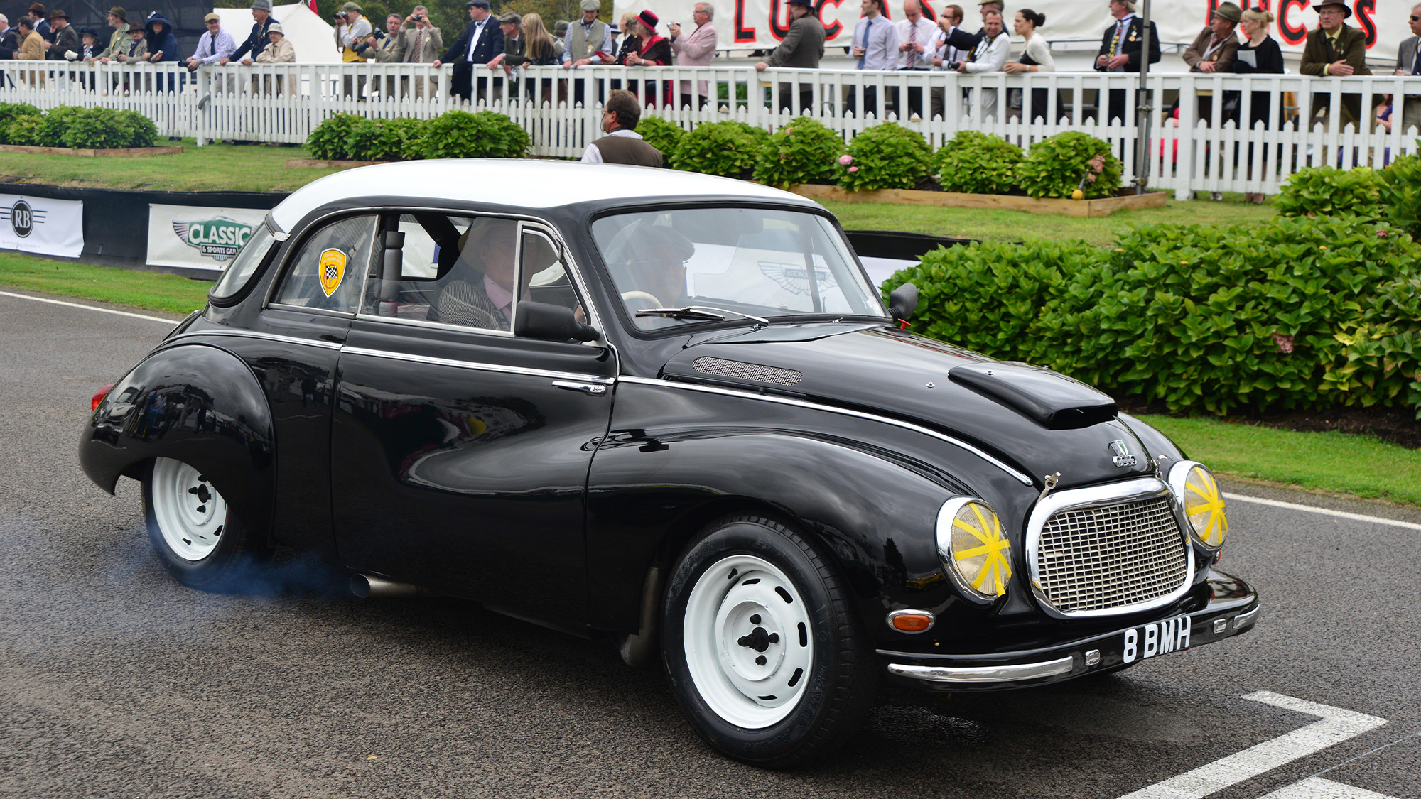 DKW Sonderklasse similar to Jim Clark first racing car at Goodwood in 2013