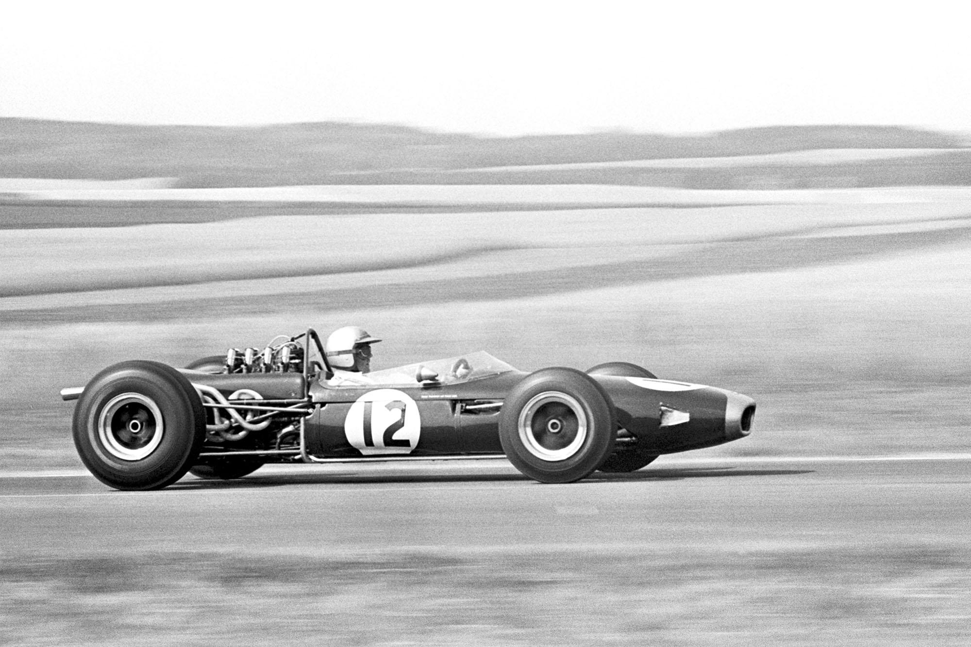 1966 French GP Brabham 3