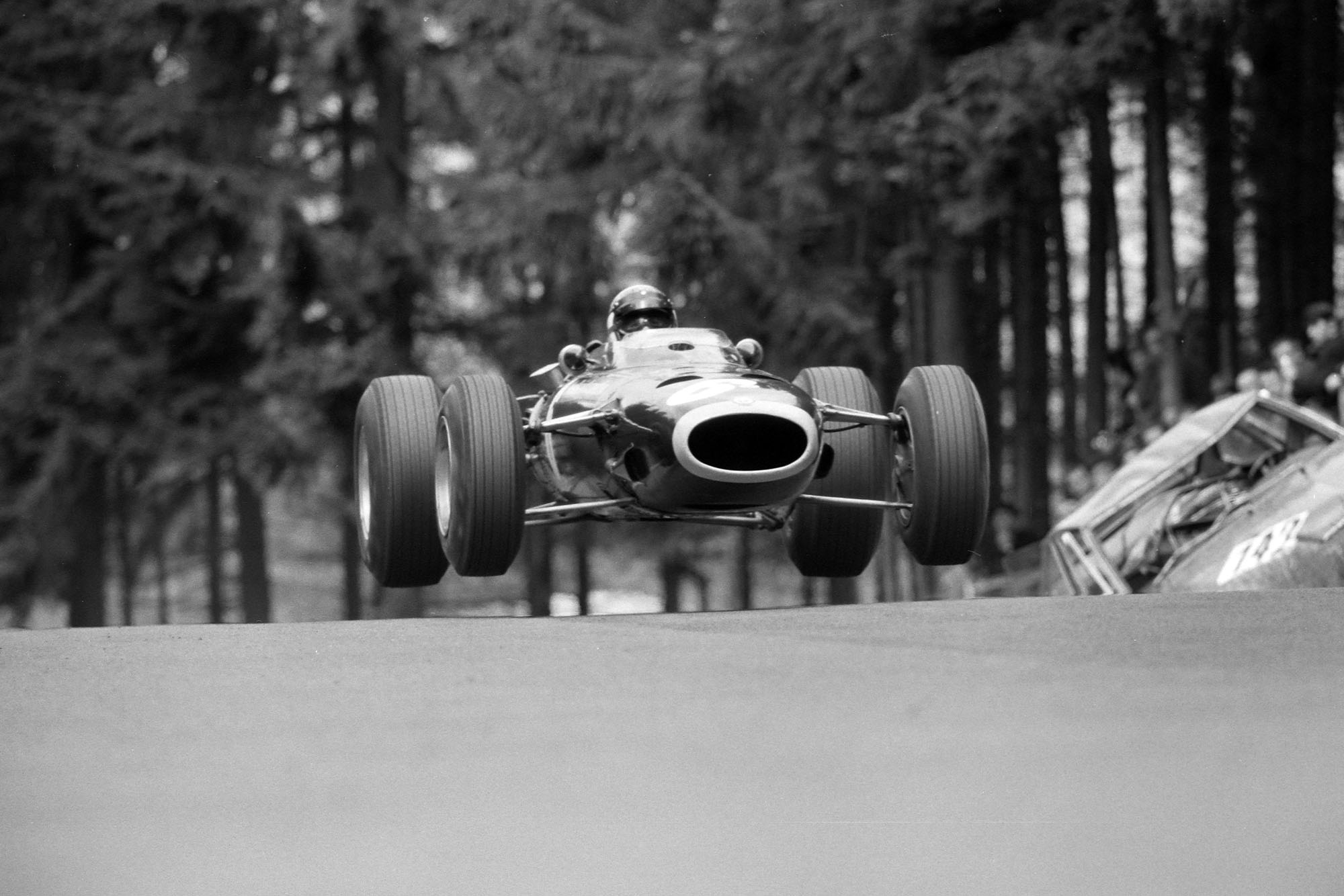 1966 German GP Stewart 2