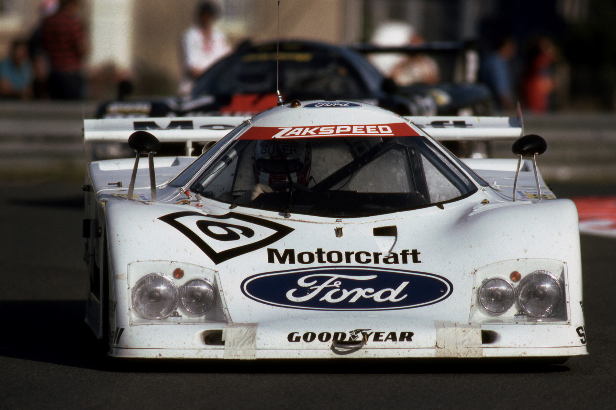 Ford C100 during the 1982 Le Mans 24 Hours