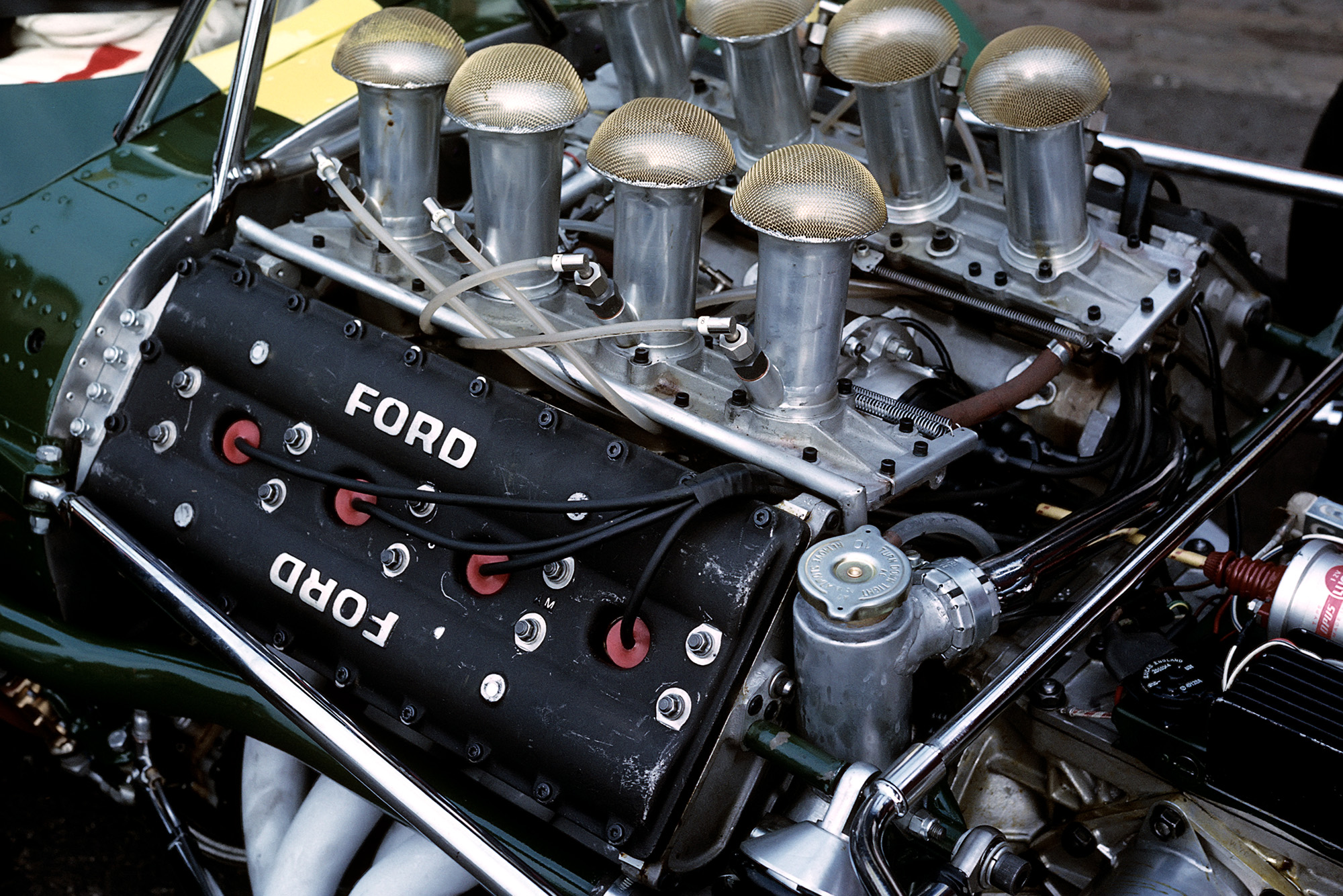 Ford Cosworth DFV in a Lotus 49 in 1967