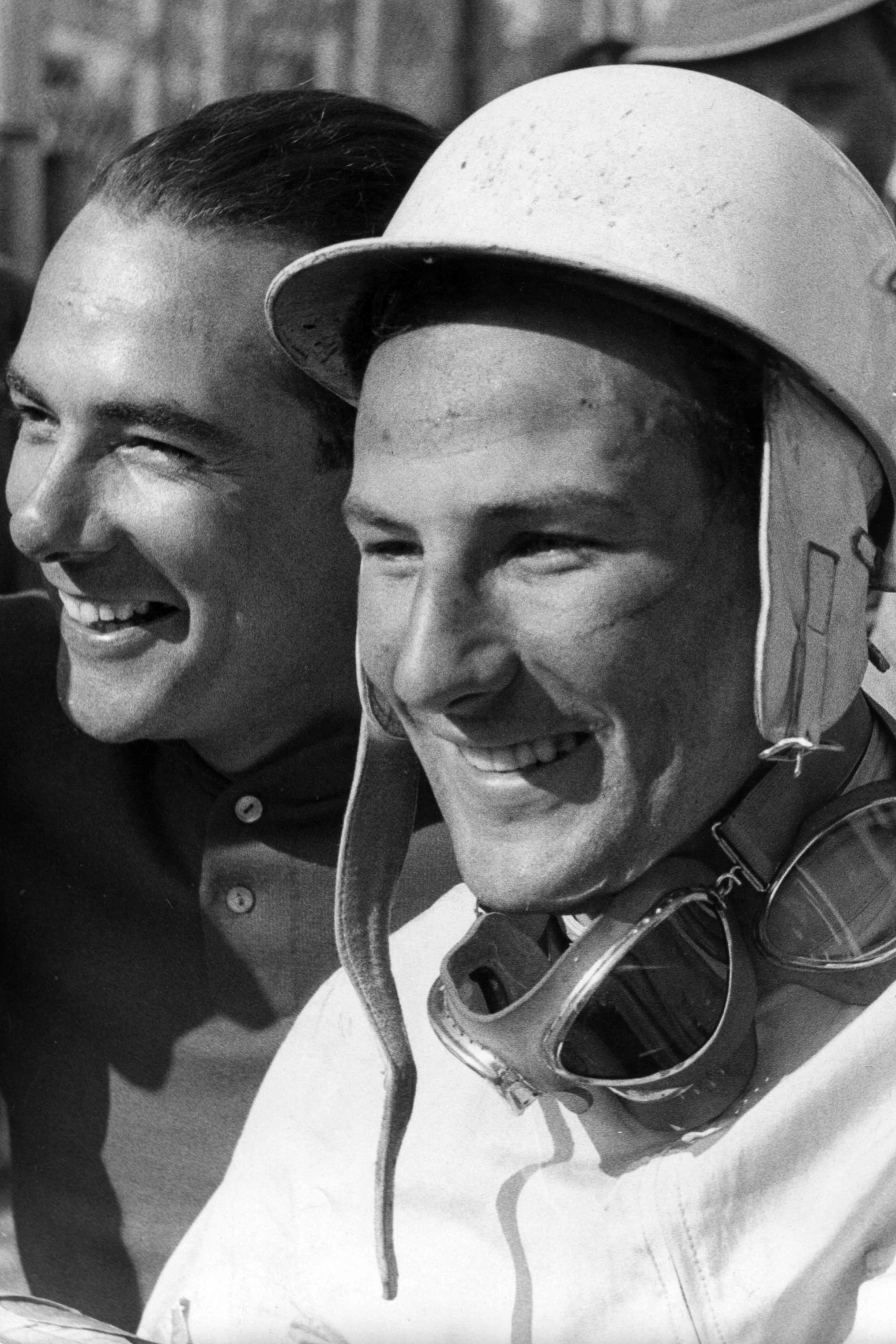 Stirling-Moss-with-Jean-Behra-at-the-1956-German-Grand-Prix