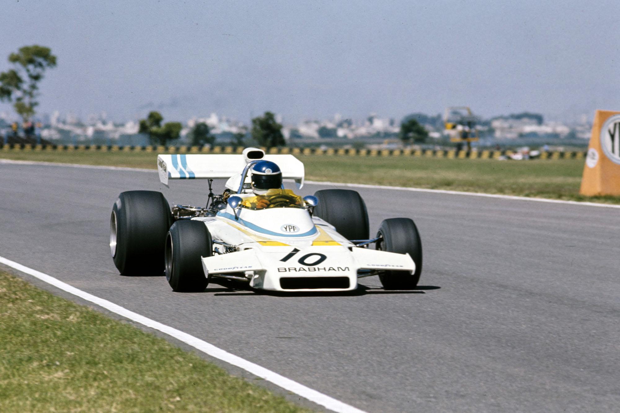 Carlos Reutemann, Brabham BT37 Ford.