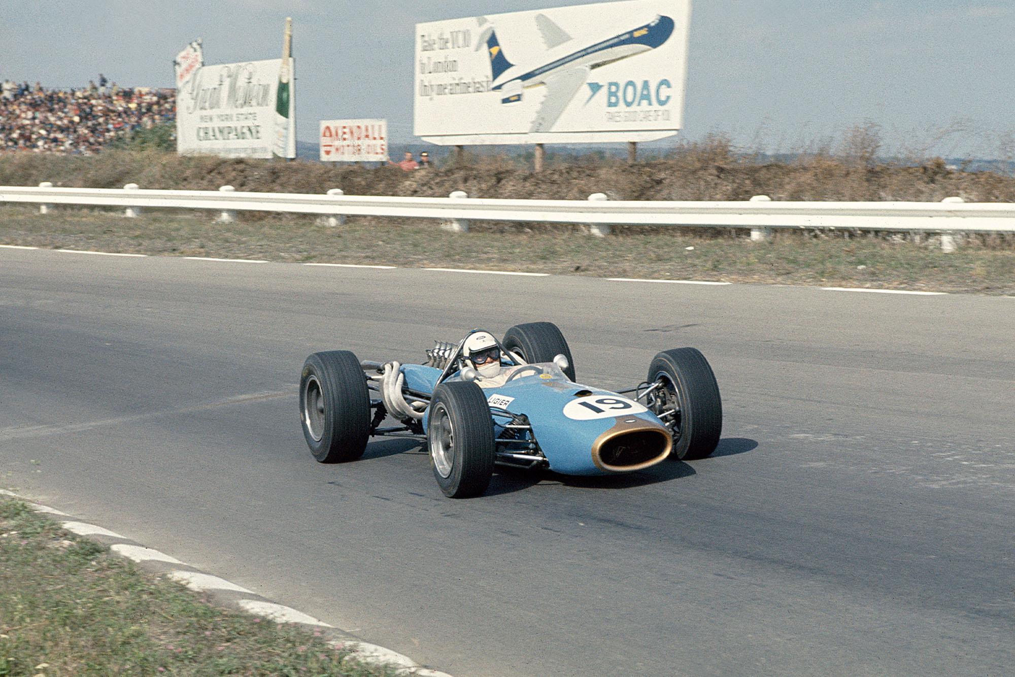 Guy Ligier (Brabham BT20 Repco).