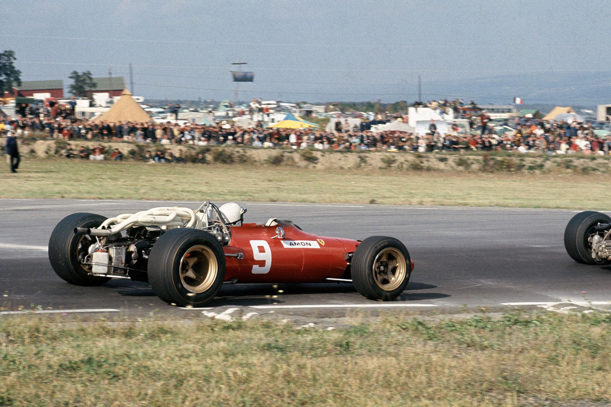 Chris Amon (Ferrari 312).