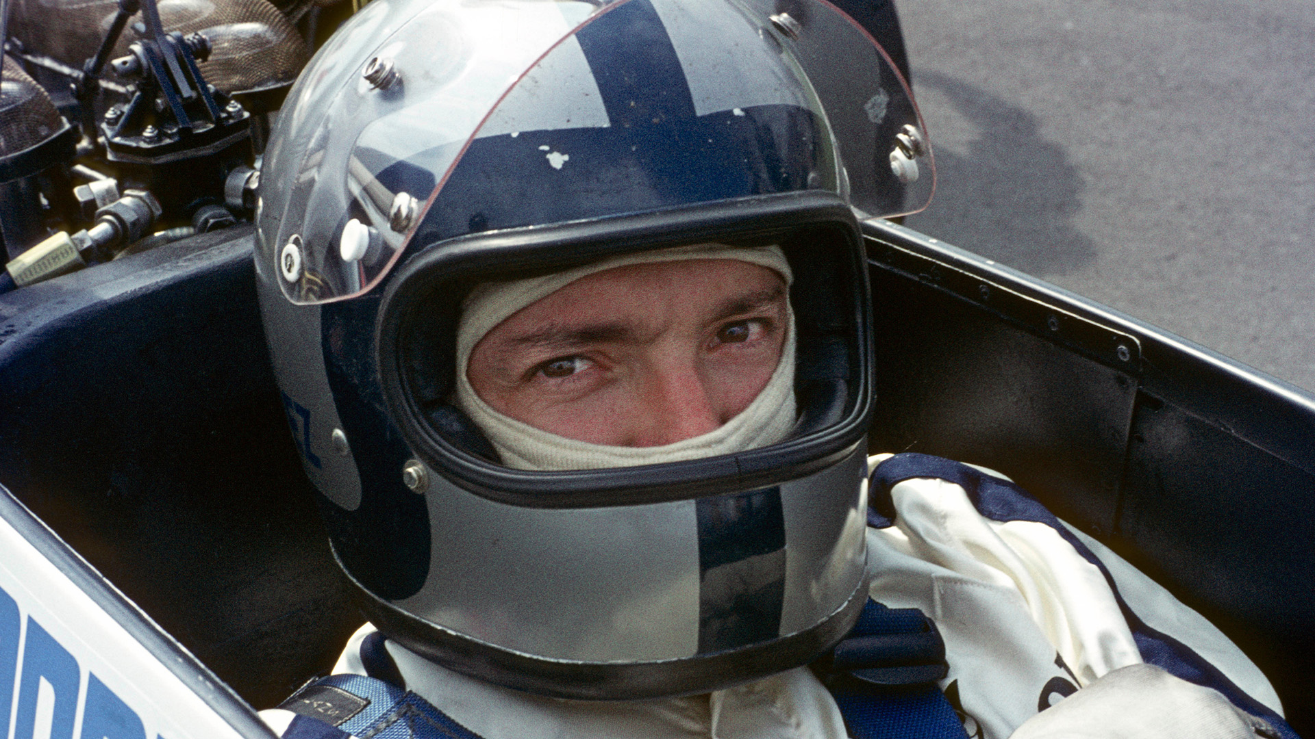 1970 picture of Pedro Rodriguez in his BRM