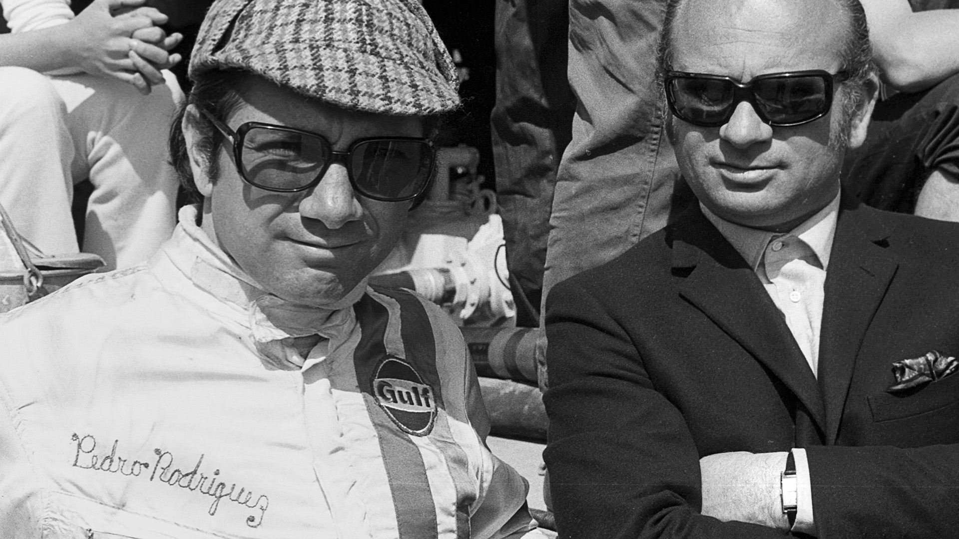 Pedro Rodriguez at the Targa Florio in 1970