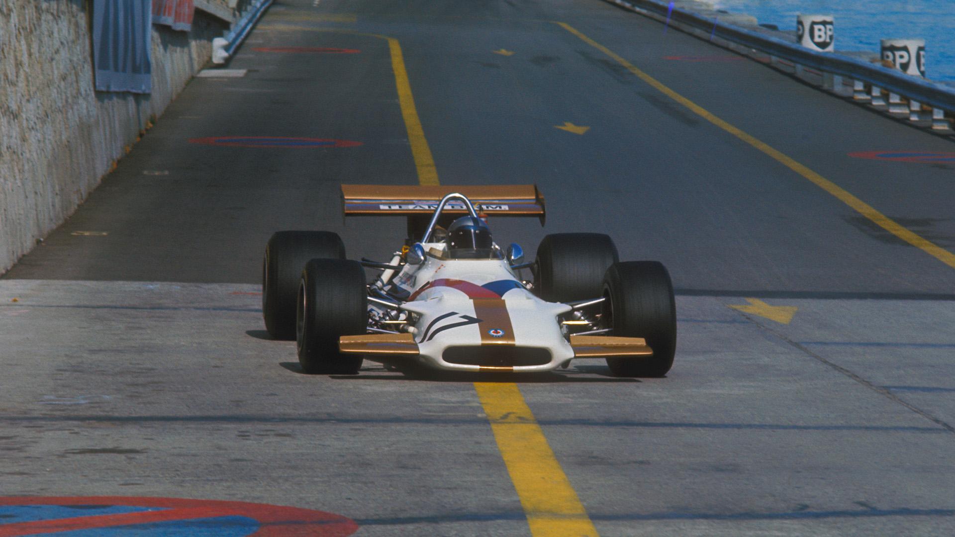 Pedro Rodriguez in the 1970 Monaco Grand Prix