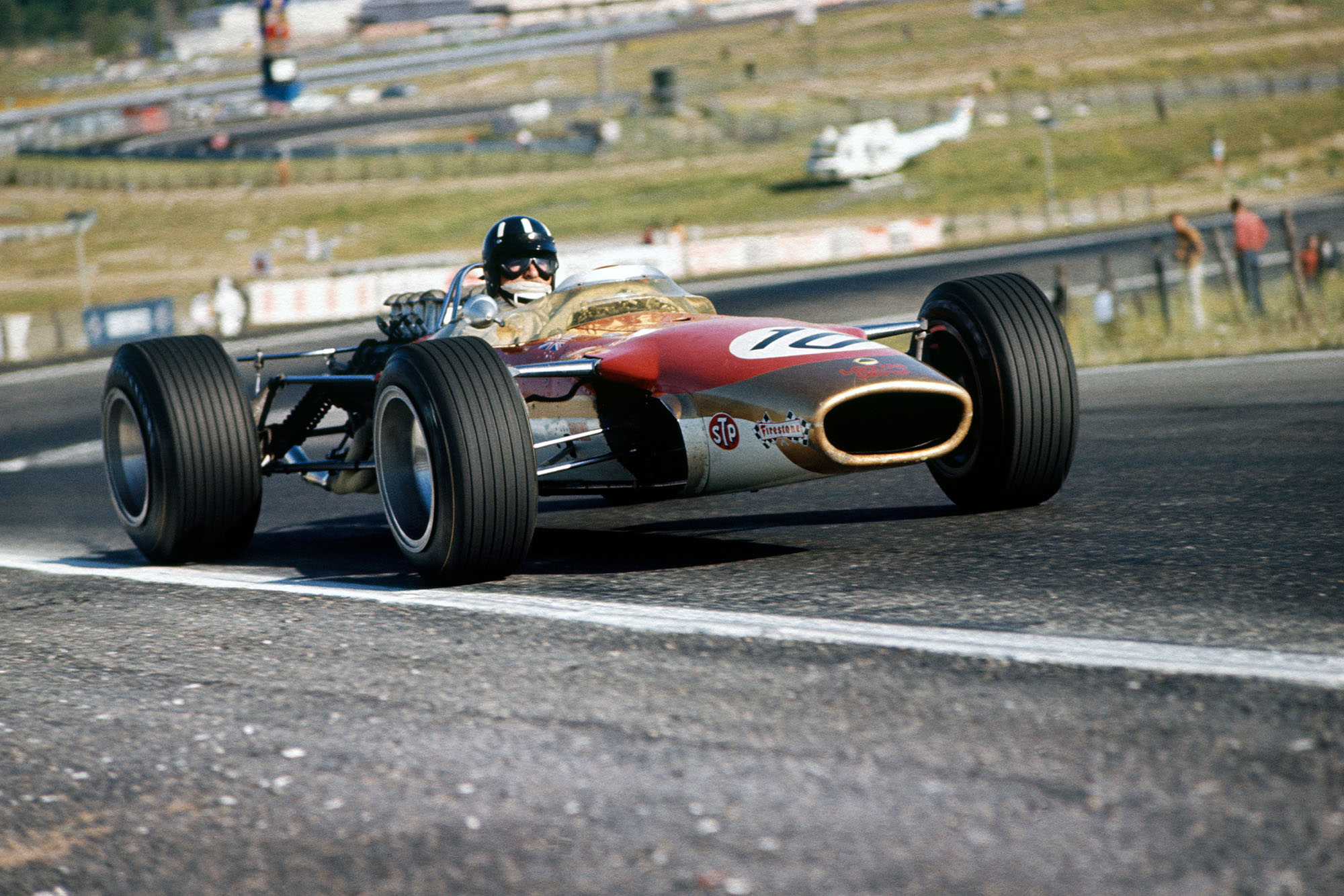Graham Hill (Lotus 49-Ford).