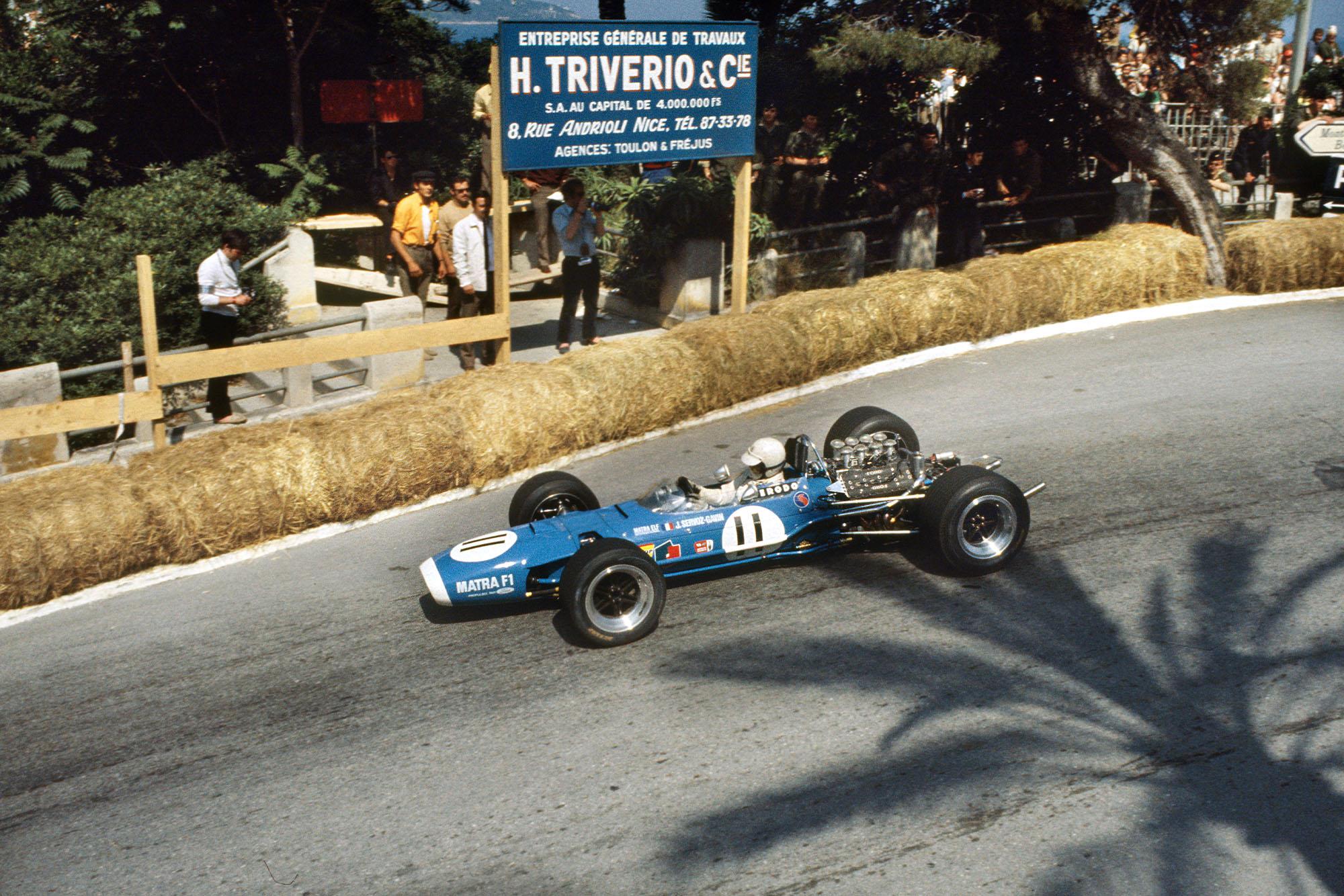 Johnny Servoz-Gavin (Matra MS10-Ford).