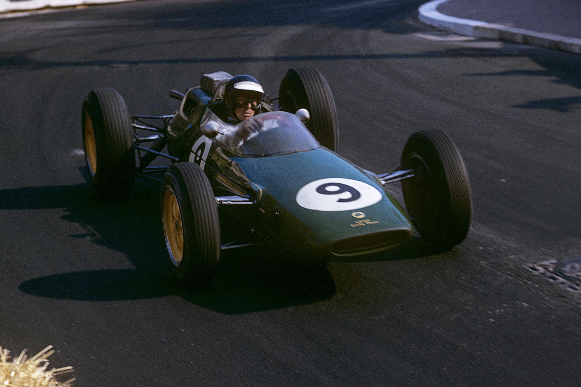 Jim Clark in the 1963 Monaco Grand Prix
