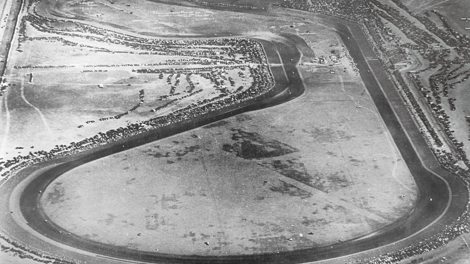 Mines Field track in Los Angeles