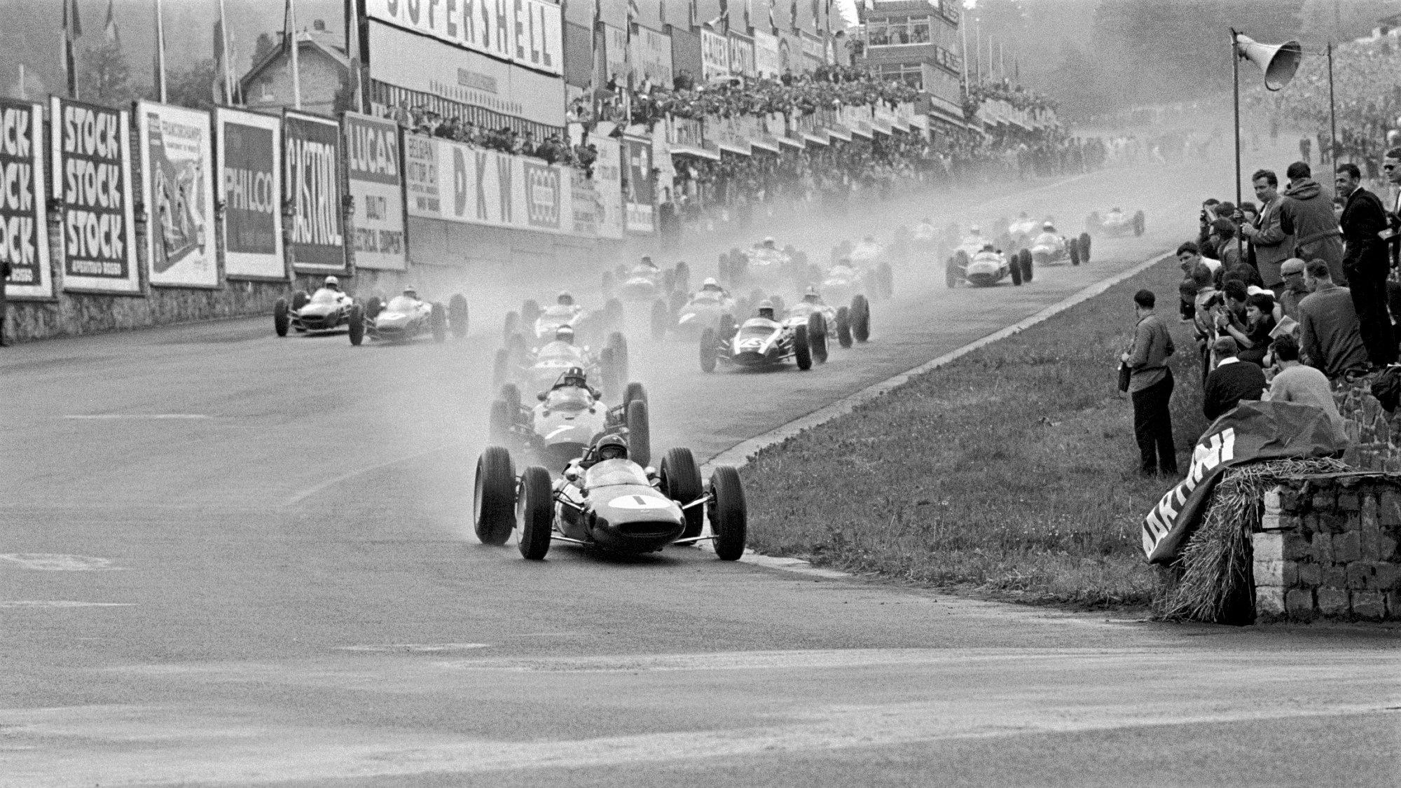 Jim Clark, 1963 Belgian GP