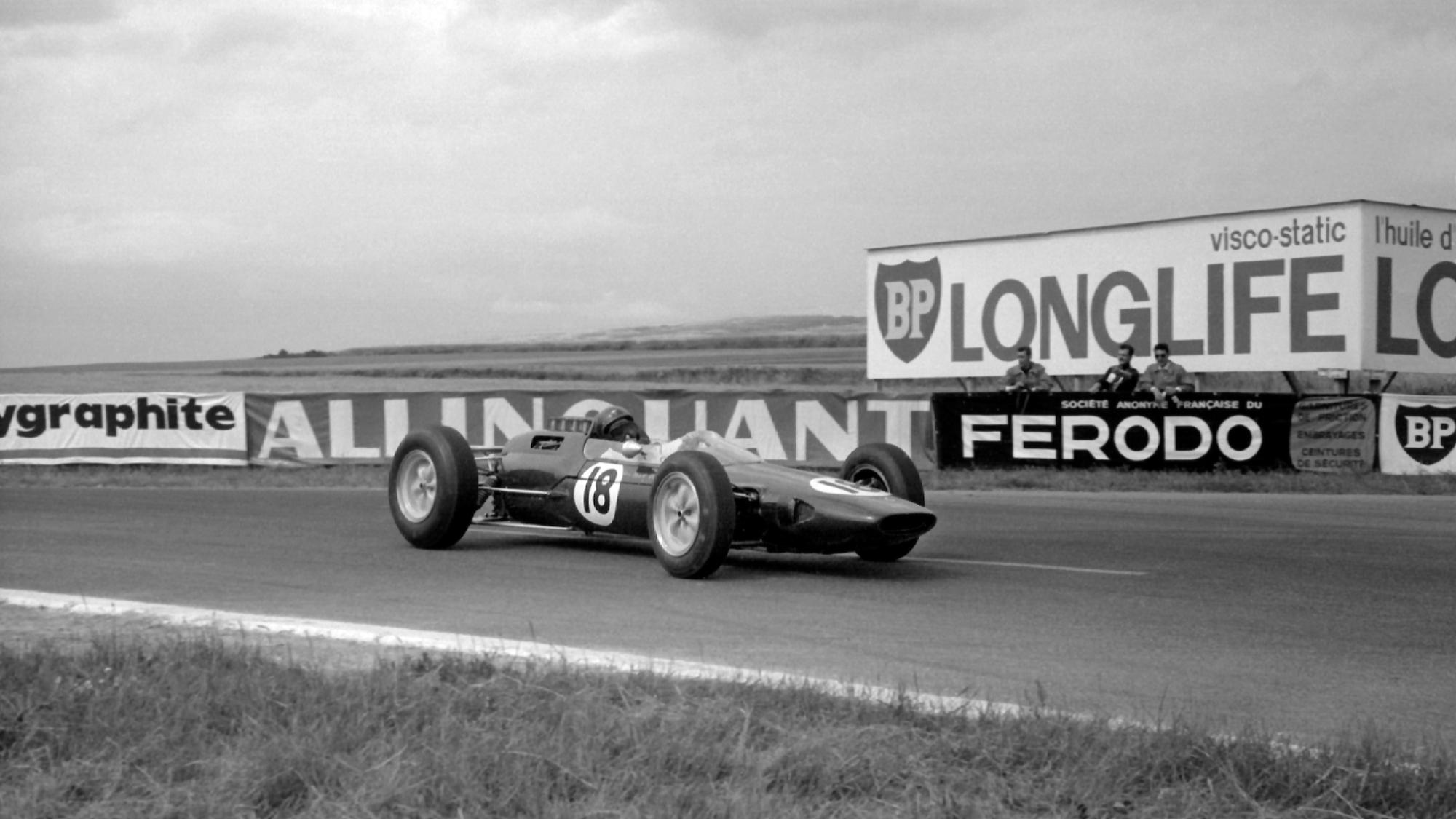 Jim Clark, 1963 French GP