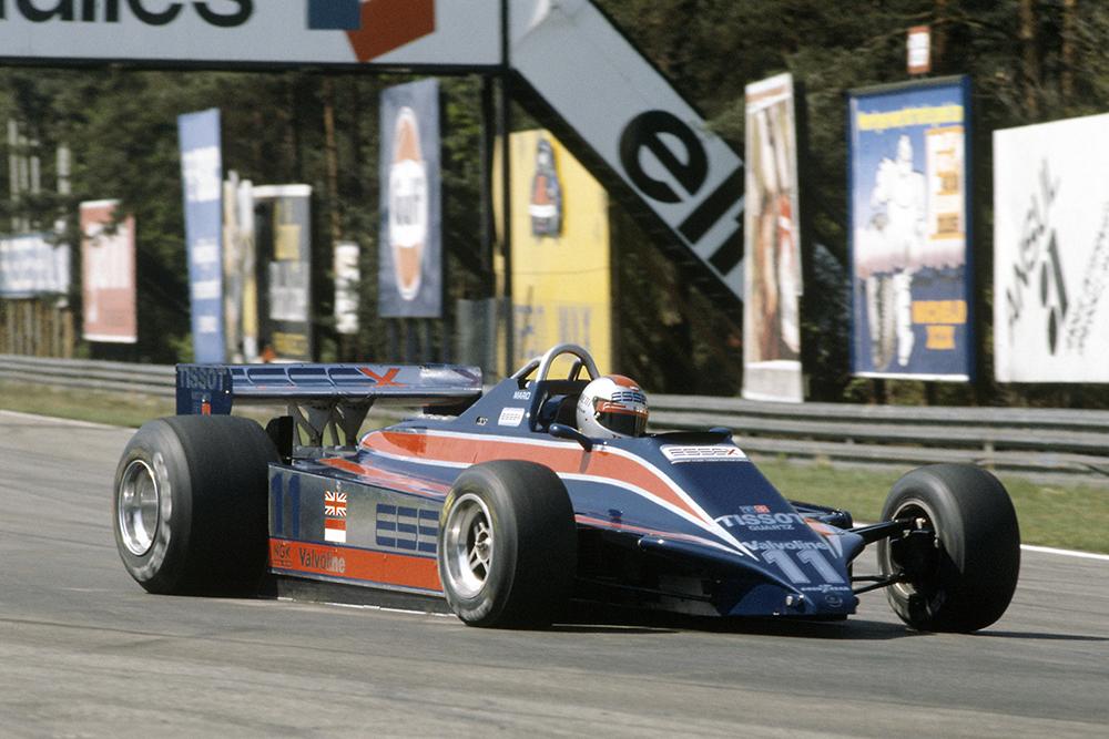 Mario Andretti in a Lotus 81-Ford Cosworth.