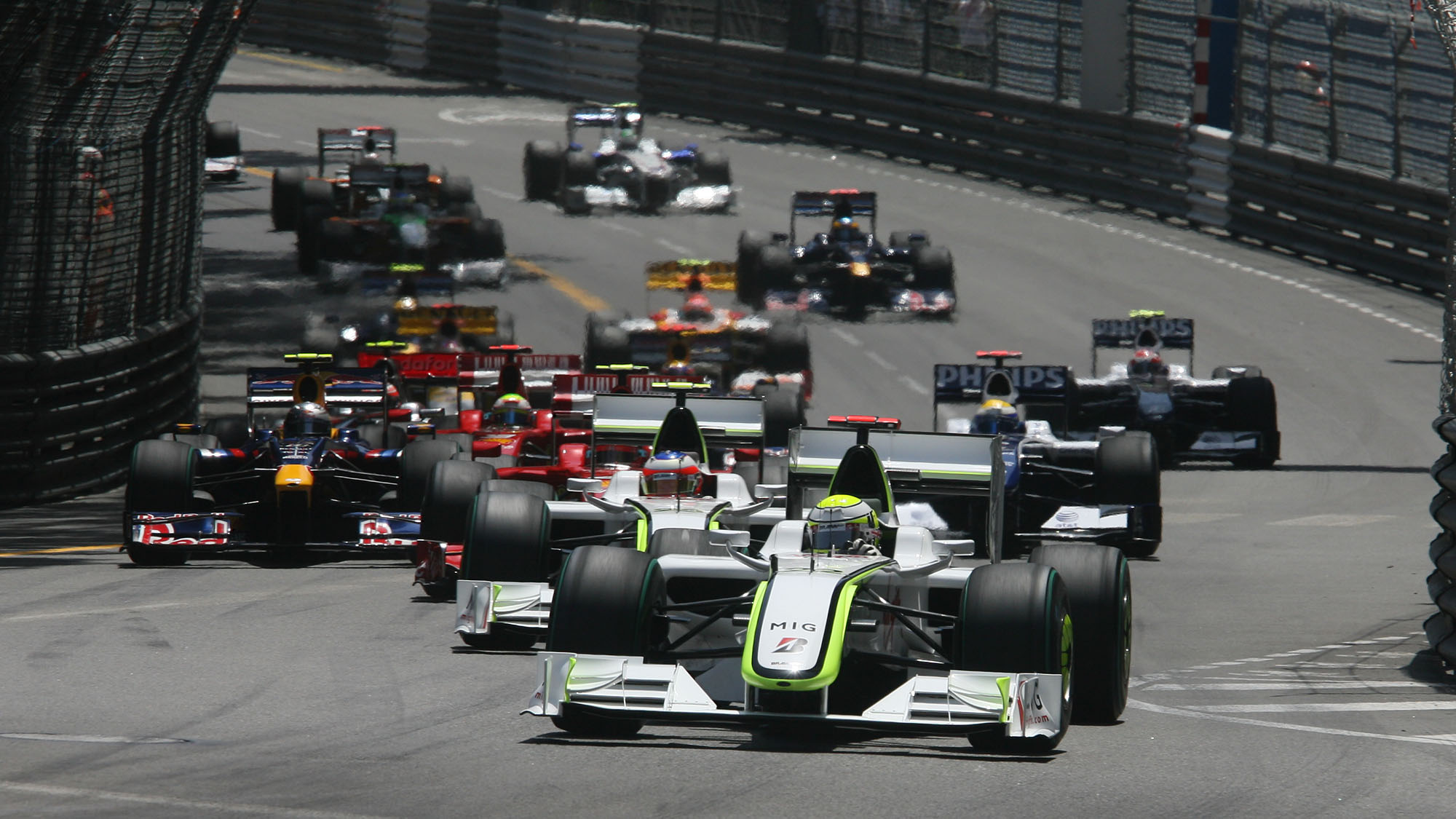 Monaco 09 Button