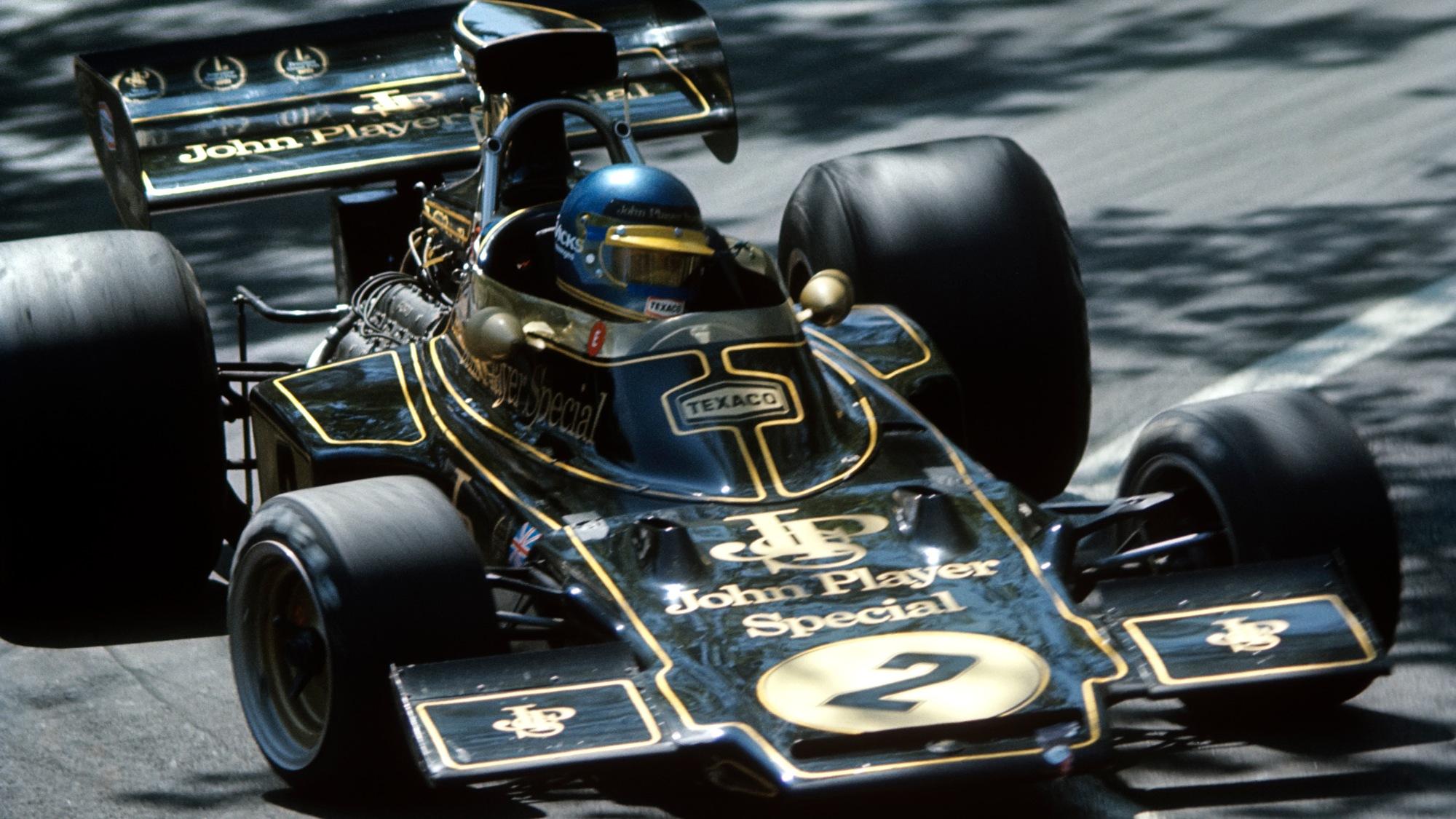 Ronnie Peterson, 1973 Spanish gp