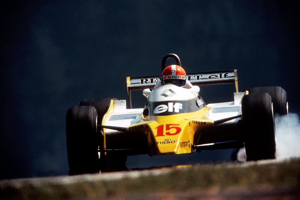 Jean-Pierre Jabouille took his second career win Renault