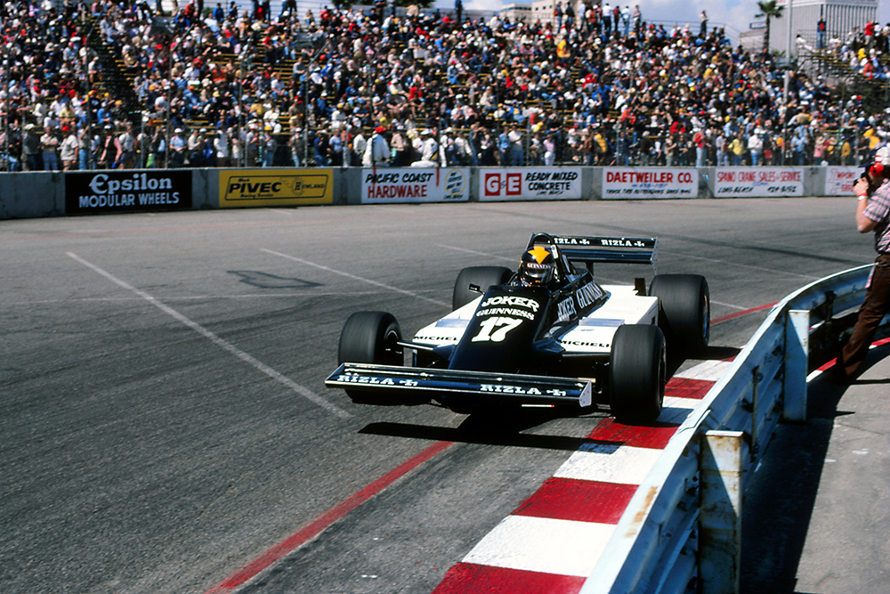 Derek Daly in his March 811, failed to qualify.