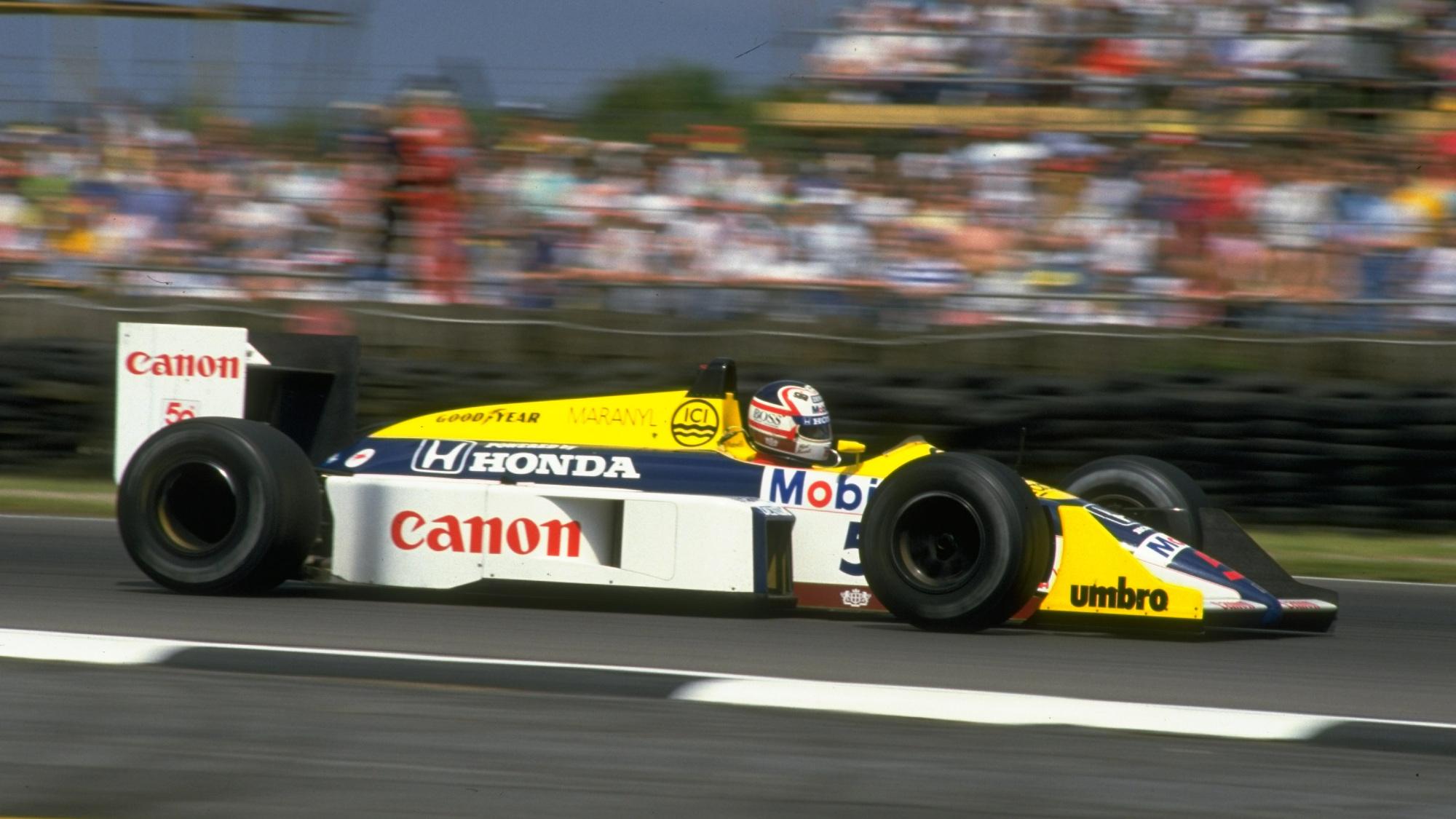 Nigel Mansell, 1987 British GP