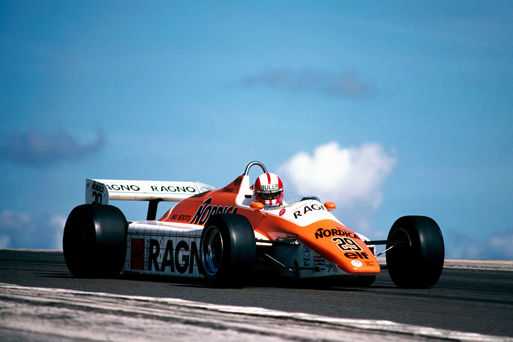 Marc Surer in his Arrows A5.