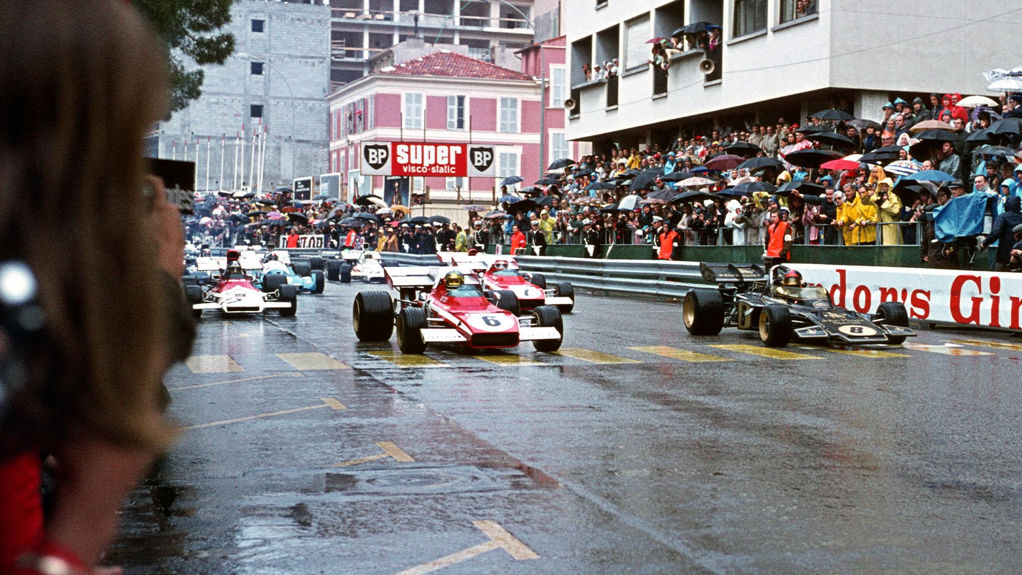 Beltoise Monaco 72 starting grid