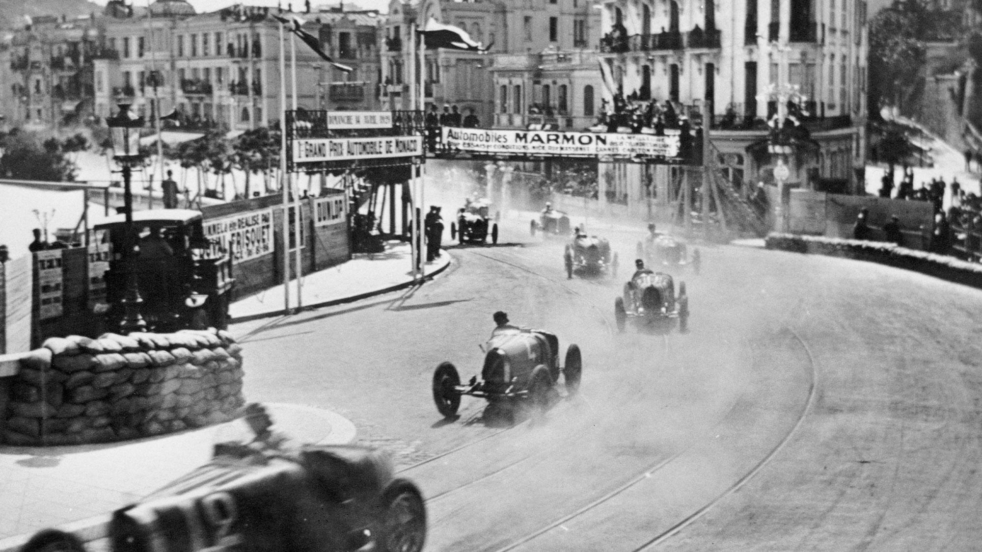William Grover-Williams leads during the 1929 Monaco Grand Prix