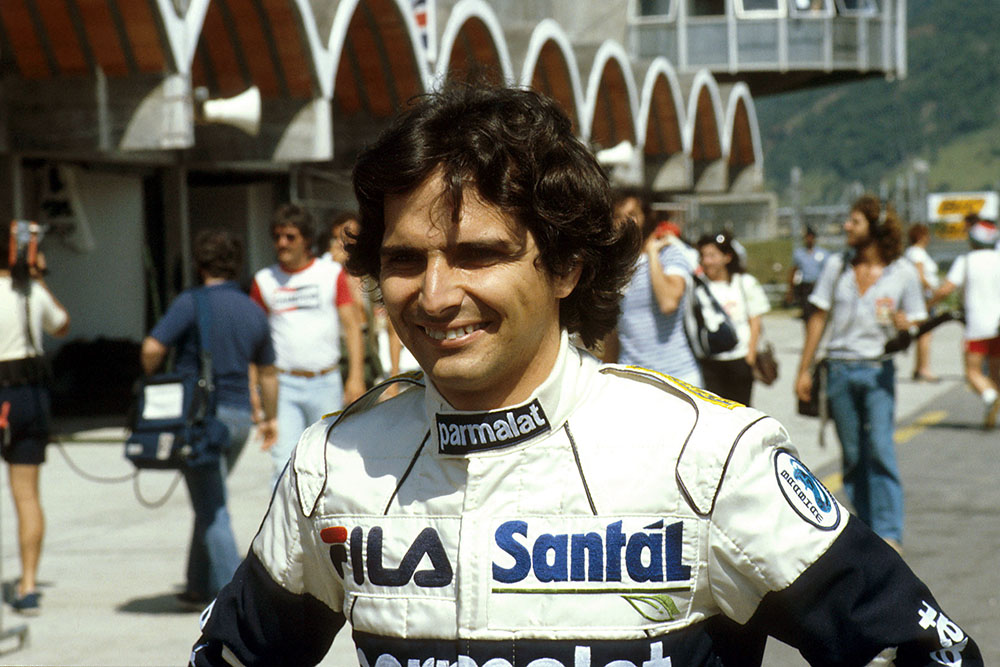 Winner Nelson Piquet.