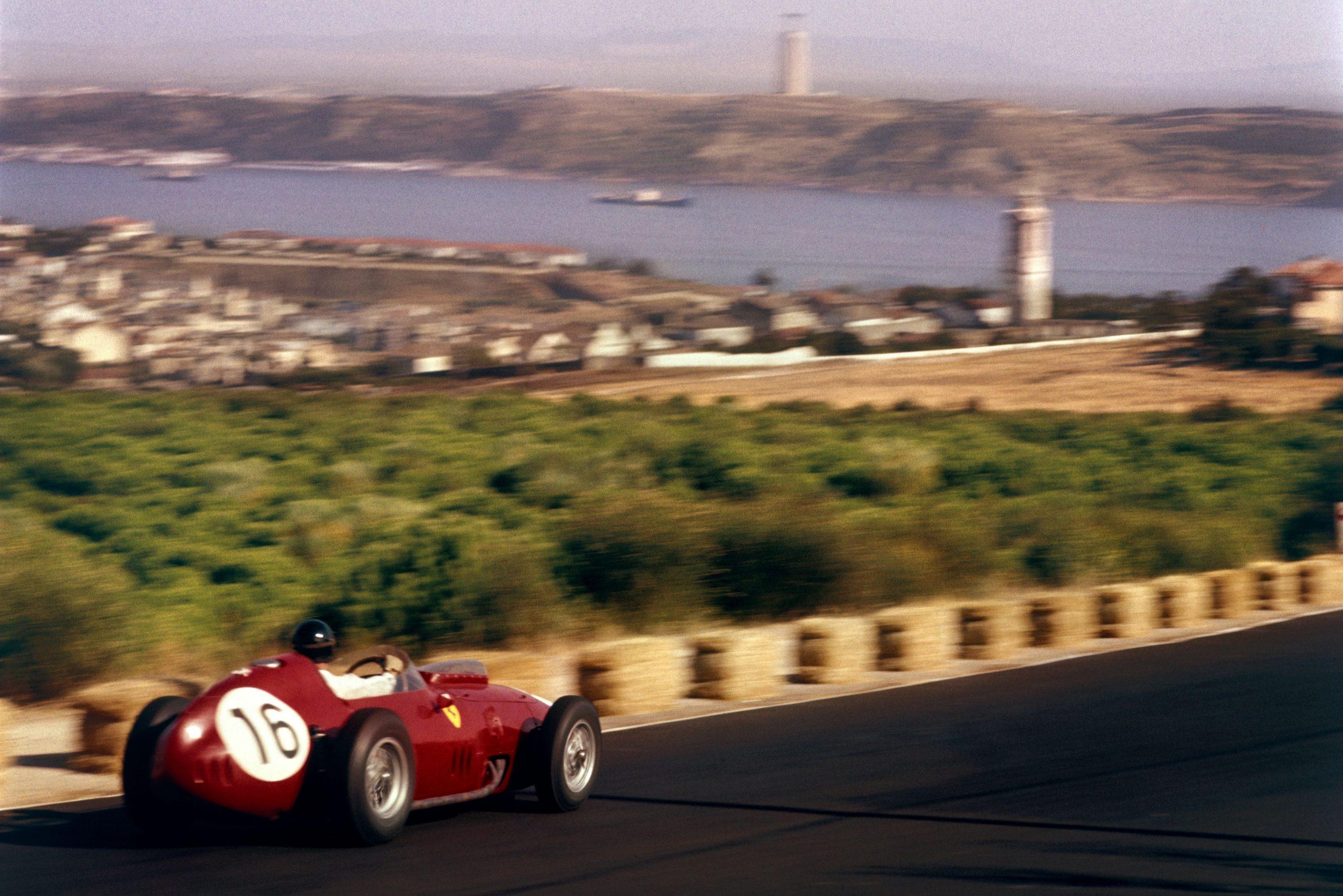 Dan Gurney in a Ferrari Dino 246