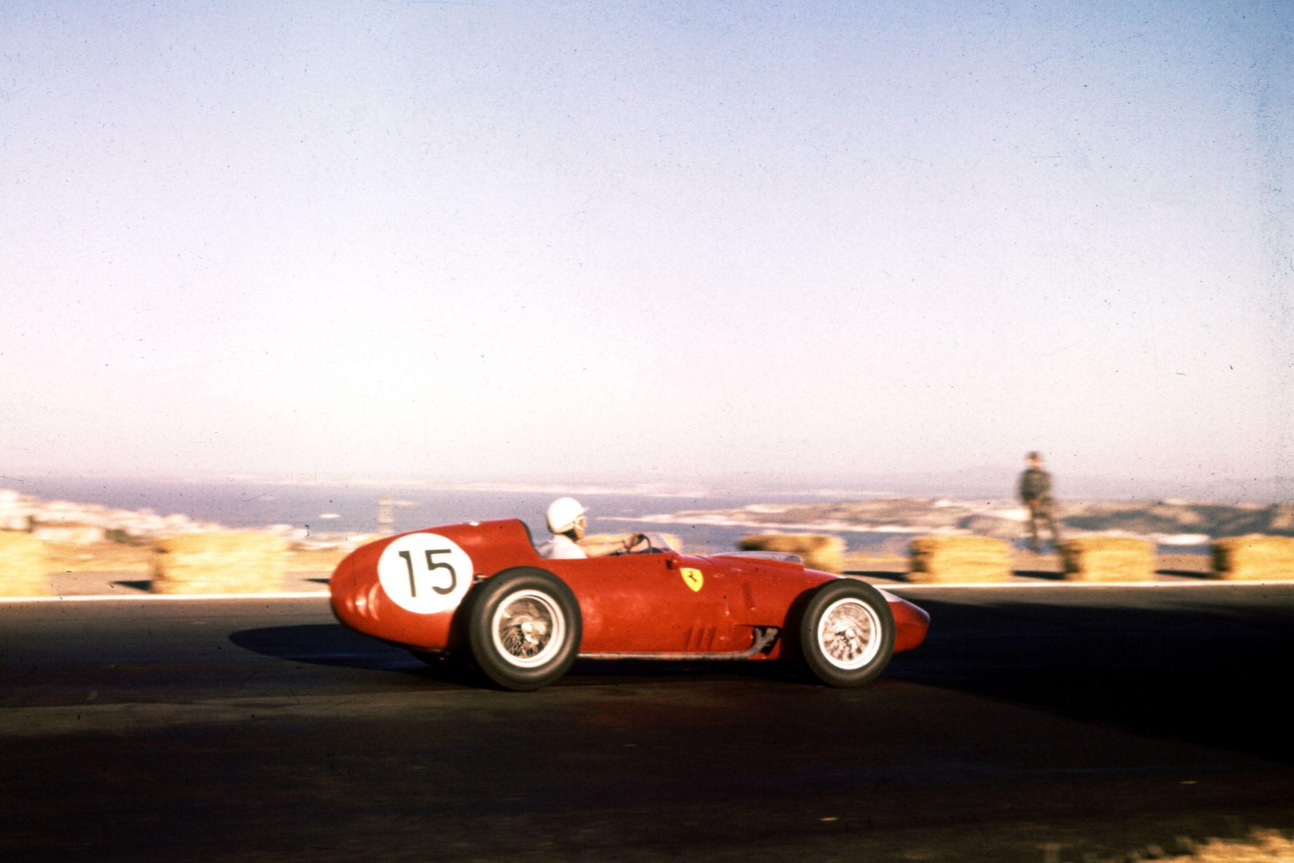 Phil Hill in his Ferrari Dino 246