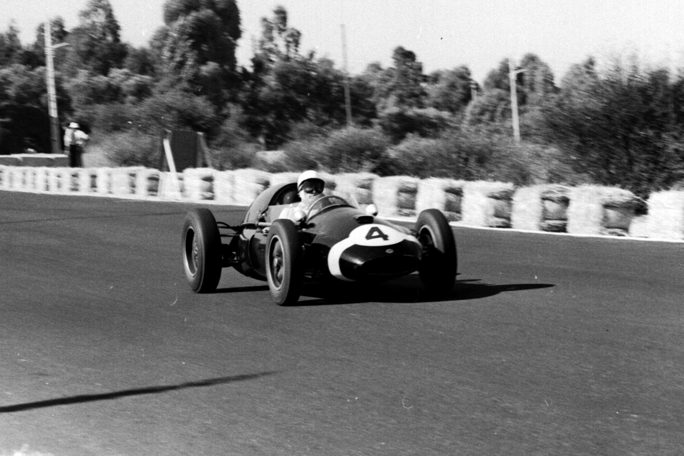 Stirling Moss in his Cooper T51 Climax.