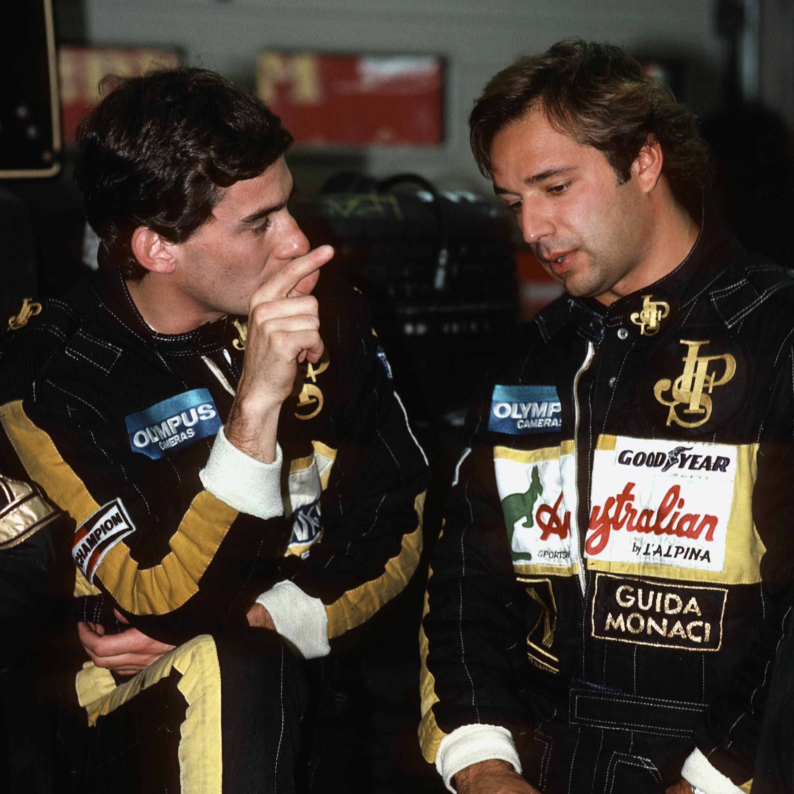 Ayrton Senna, Elio De Angelis, Grand Prix Of Belgium