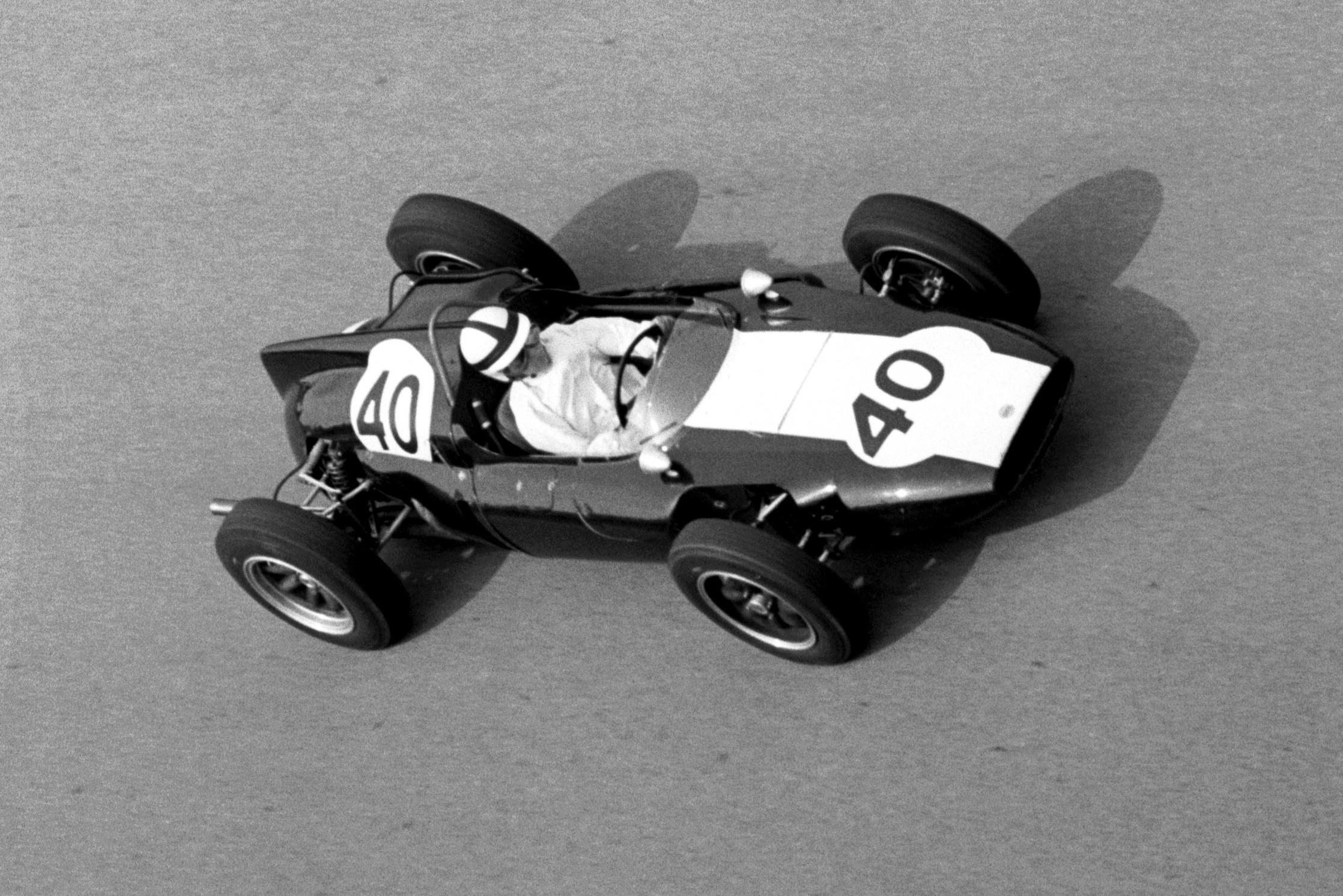 Jackie Lewis in his Cooper T53.