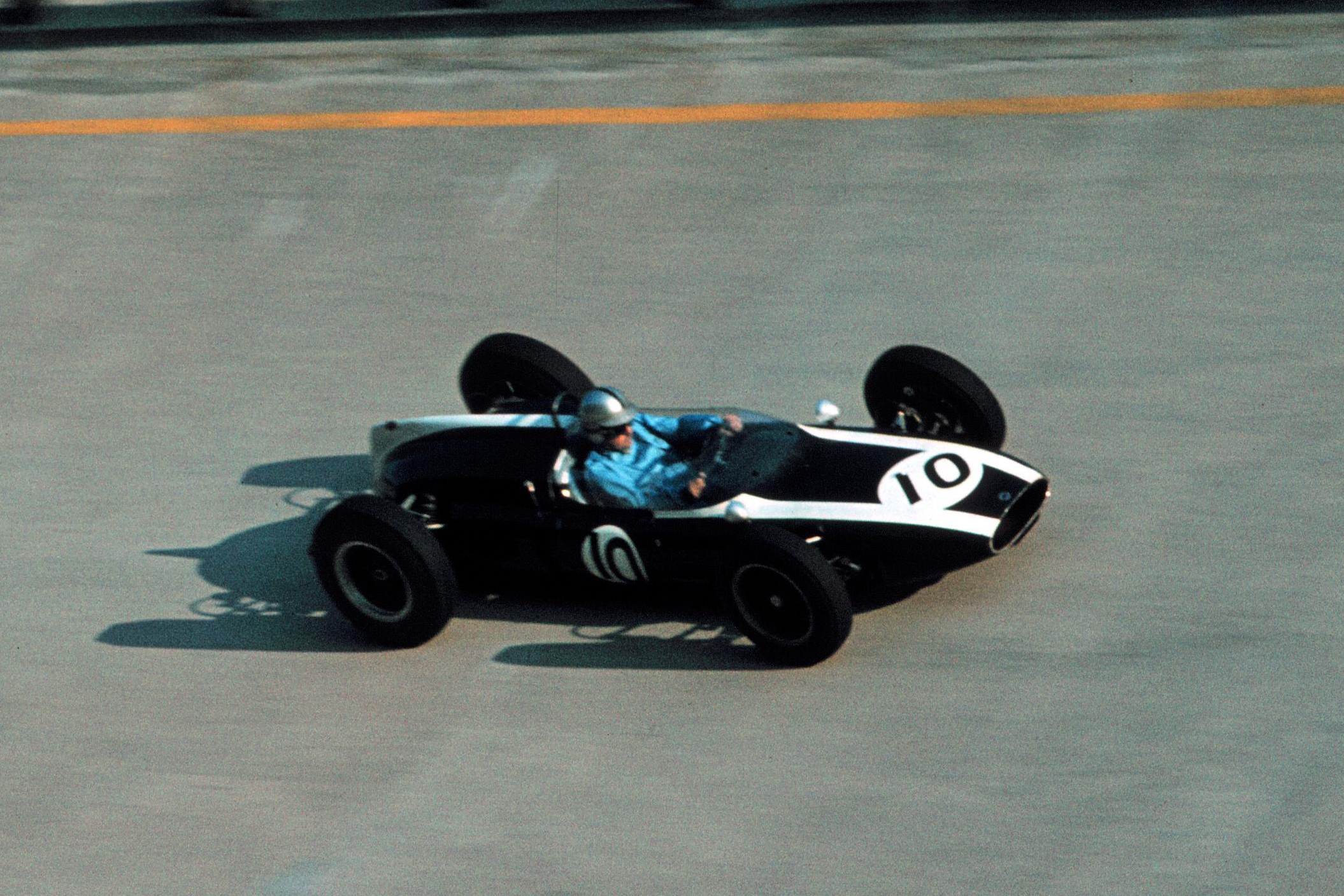 Jack Brabham in his Cooper T58.