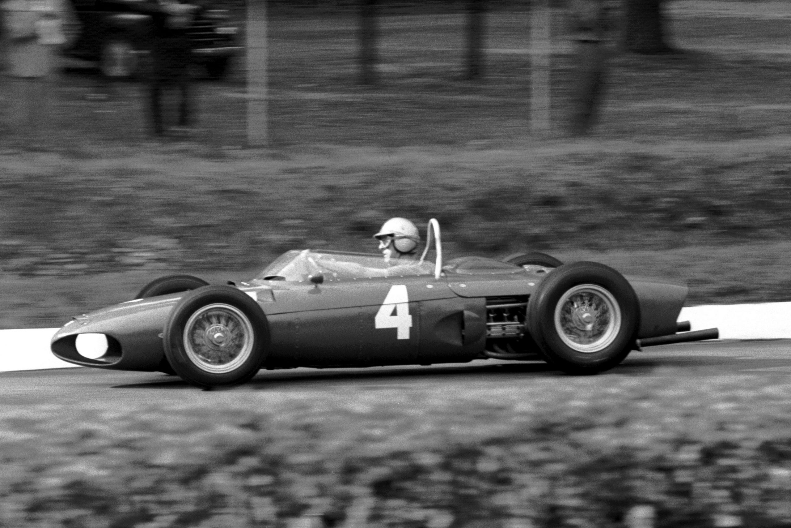 Wolfgang von trips Ferrari 156. He was involved in a horrific crash on the approach to the Parabolica that tragically killed him and fourteen spectators.