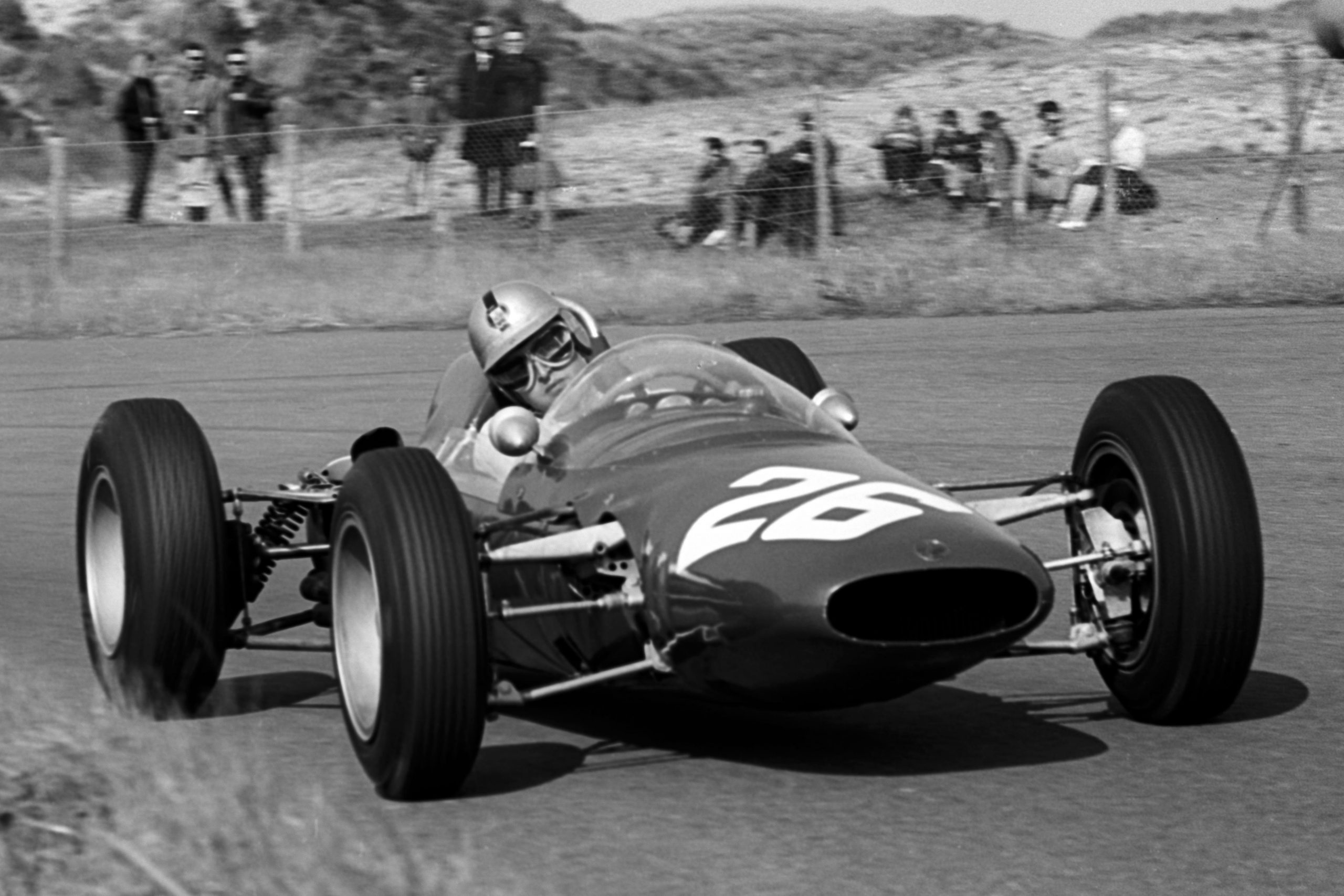 Giancarlo Baghetti retired the heavily revised ATS 100 after 17 laps with ignition failure.